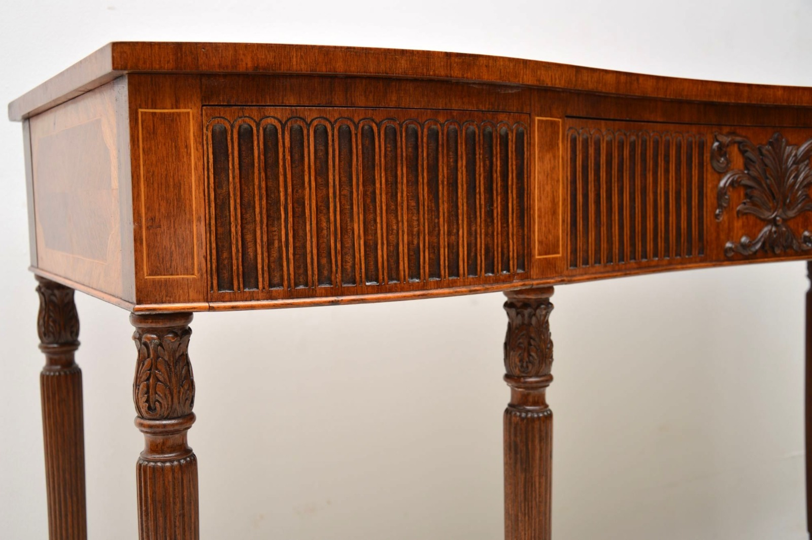 Inlaid Mahogany & Kingwood Server Console Table C (View 17 of 30)