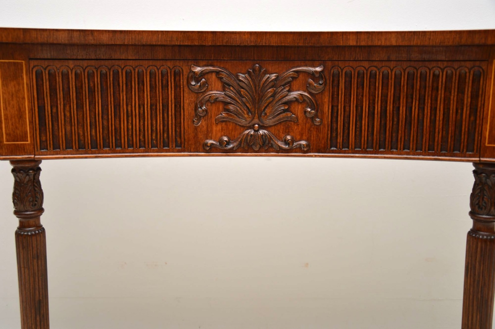 Inlaid Mahogany & Kingwood Server Console Table C (View 19 of 30)