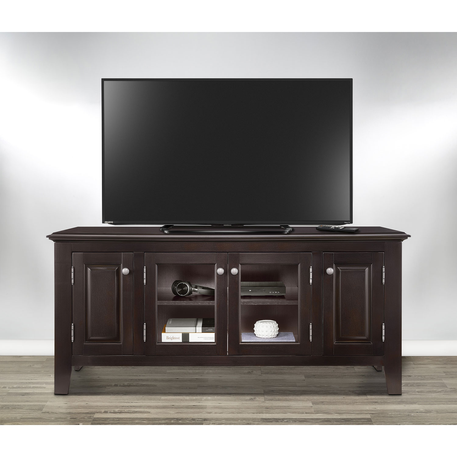 """Insignia 60"""" Tv Stand – Dark Espresso : Tv Stands – Best Buy Canada Within Valencia 60 Inch Tv Stands (View 23 of 30)"""
