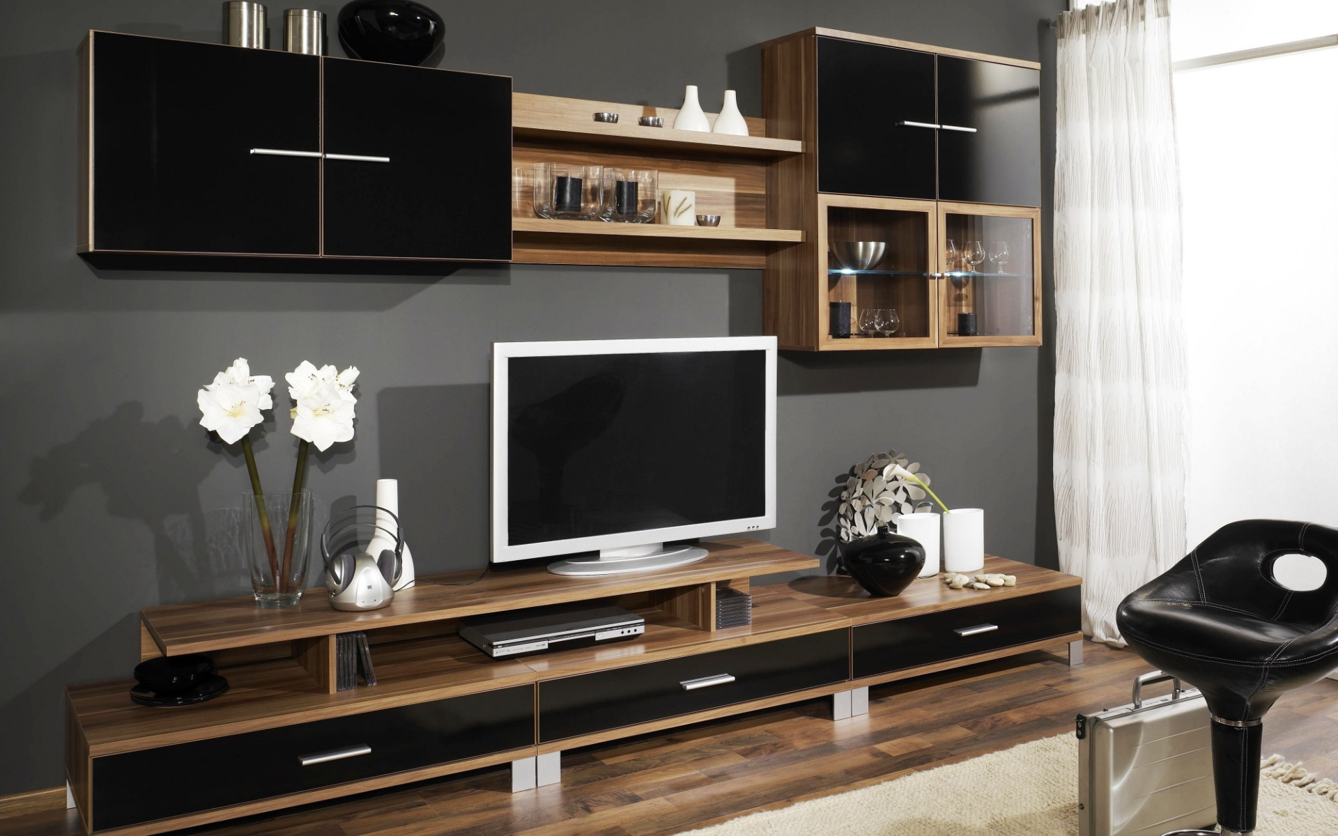 Inspiring Wall Entertainment Center 70 Inch Tv Room Wood Ideas Inside Lauderdale 74 Inch Tv Stands (View 18 of 30)