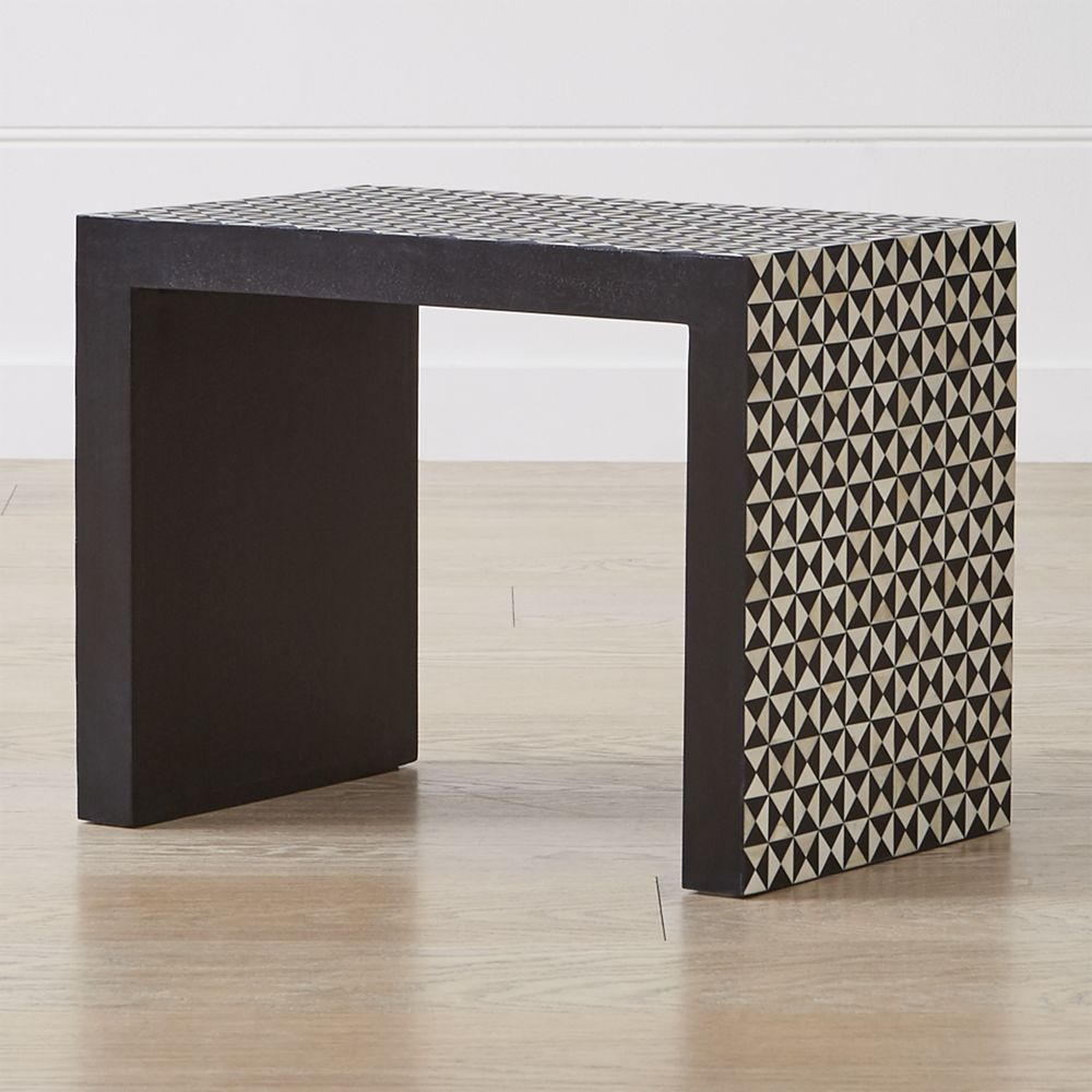 Intarsia Black C Table | Products | Pinterest | C Table, Table And With Intarsia Console Tables (View 12 of 30)