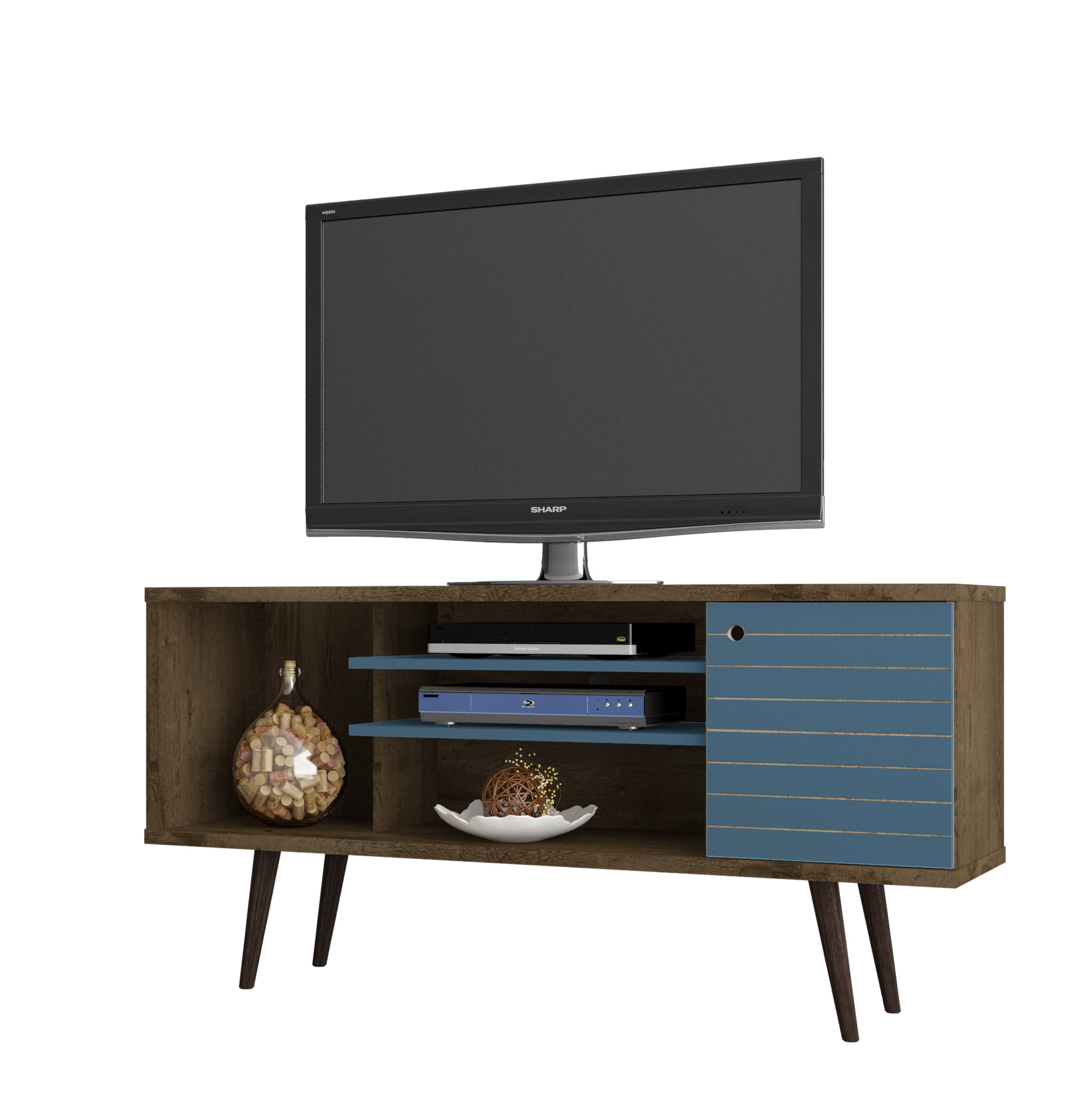 Jabari Tv Stand For Tvs Up To 50'' & Reviews | Joss & Main with regard to Century Blue 60 Inch Tv Stands (Image 9 of 30)