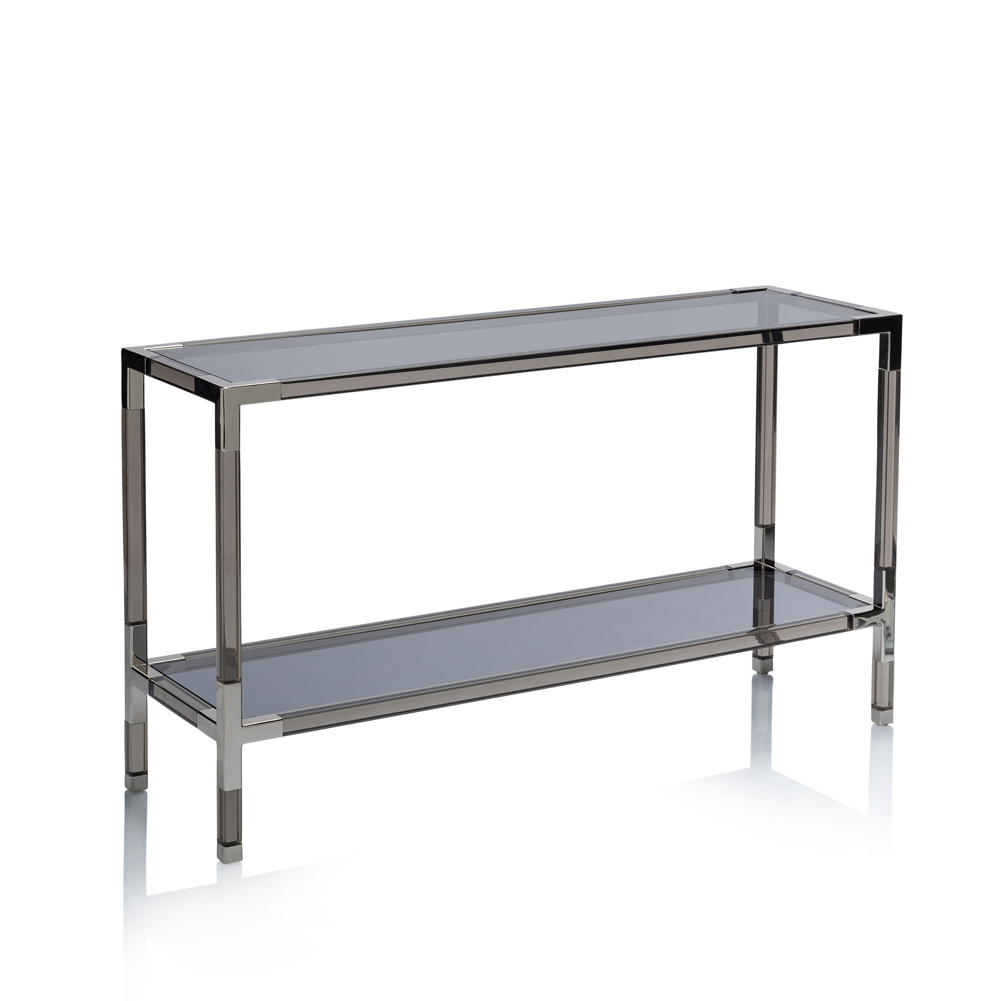 Jacques Lucite Console in Jacque Console Tables (Image 23 of 30)