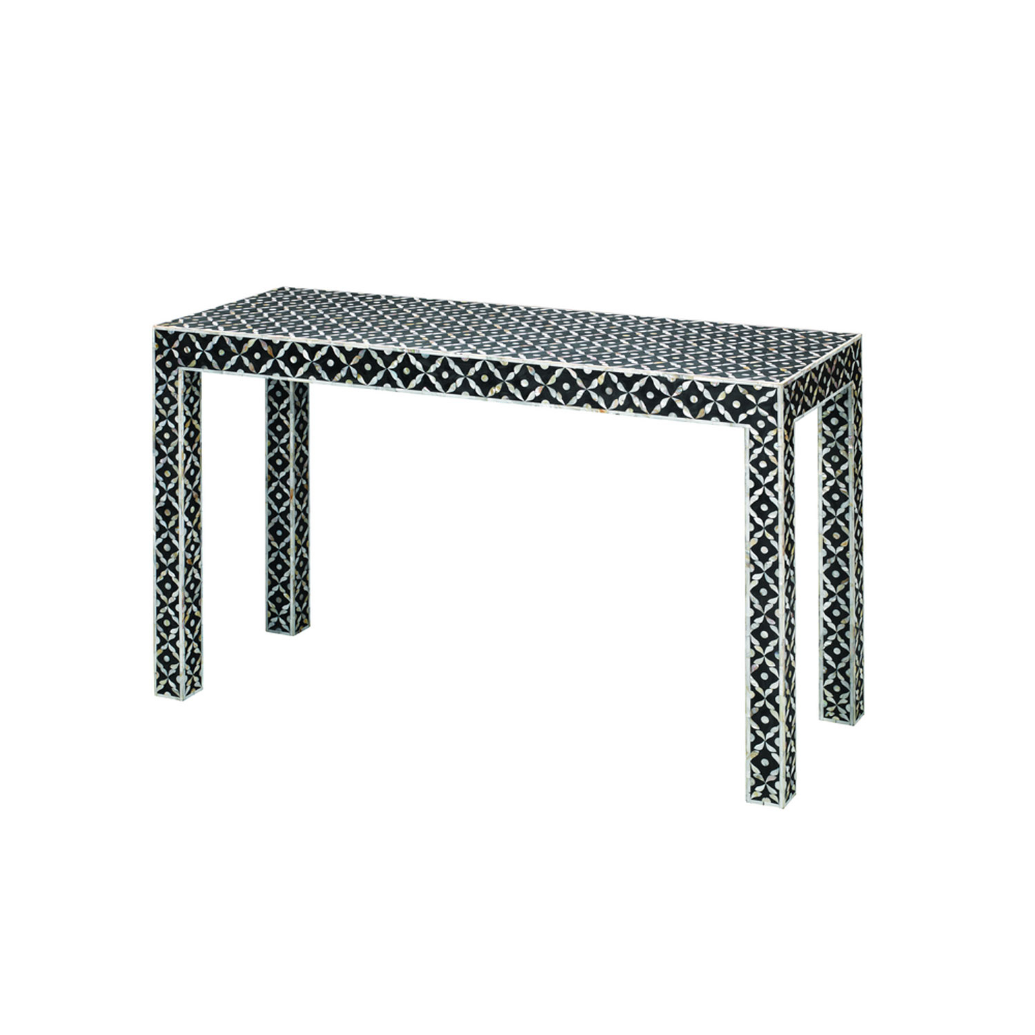 Jamie Young Company Evelyn Mother Of Pearl Console Table 20Evel within Yukon Grey Console Tables (Image 13 of 30)