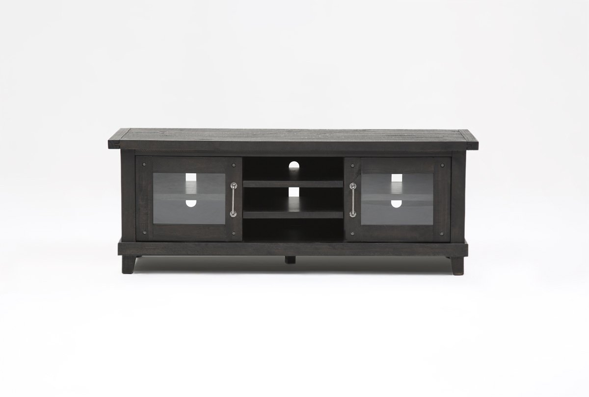 Jaxon 65 Inch Tv Stand | Living Spaces in Walton 74 Inch Open Tv Stands (Image 16 of 30)