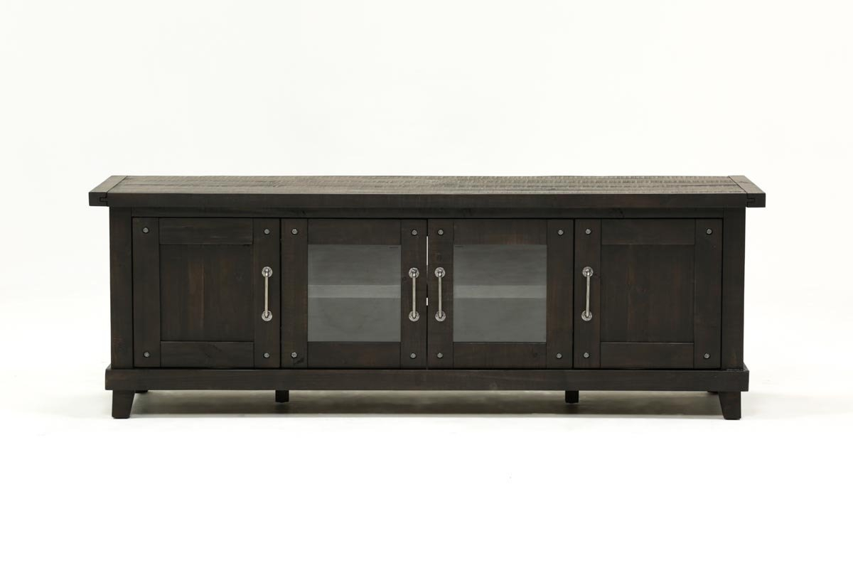 Jaxon 76 Inch Plasma Console | Living Spaces pertaining to Oscar 60 Inch Console Tables (Image 14 of 30)