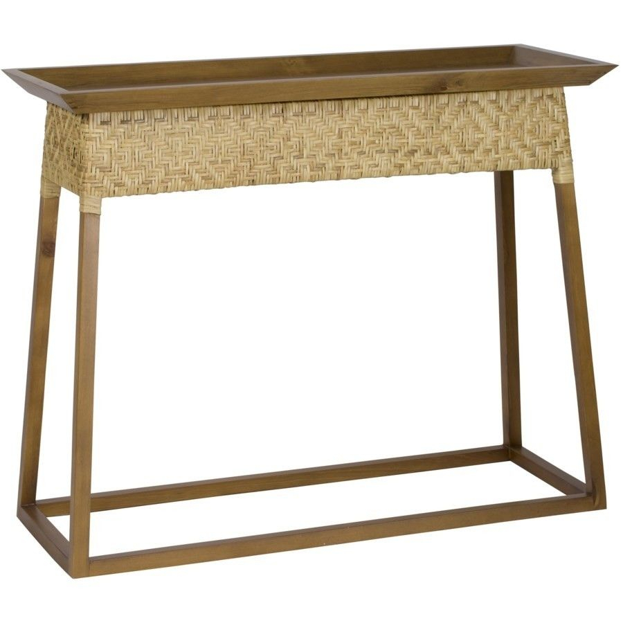 Kingpin Console | Console Table With Stools | Pinterest | Console Pertaining To Parsons Walnut Top & Elm Base 48X16 Console Tables (Photo 8 of 30)