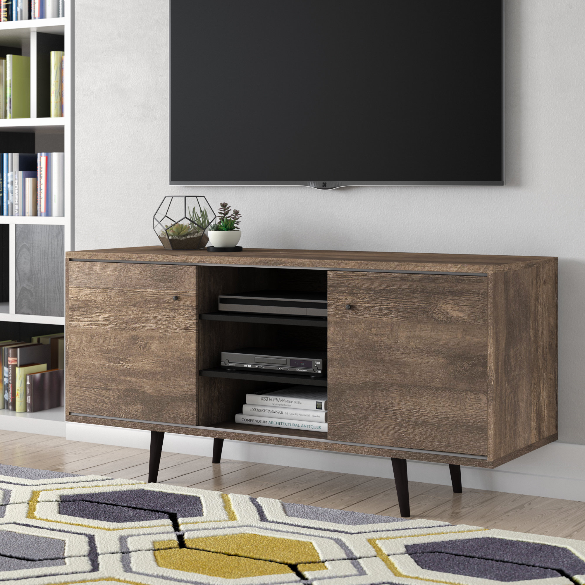 """Langley Street Norloti Tv Stand For Tvs Up To 58"""" & Reviews 