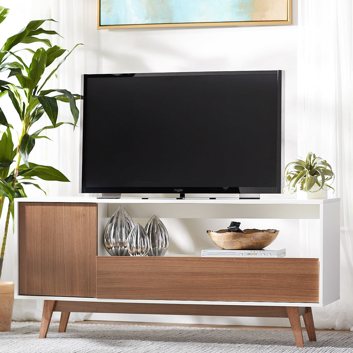 "Langley Street Quincy Tv Stand For Tvs Up To 65"" & Reviews 