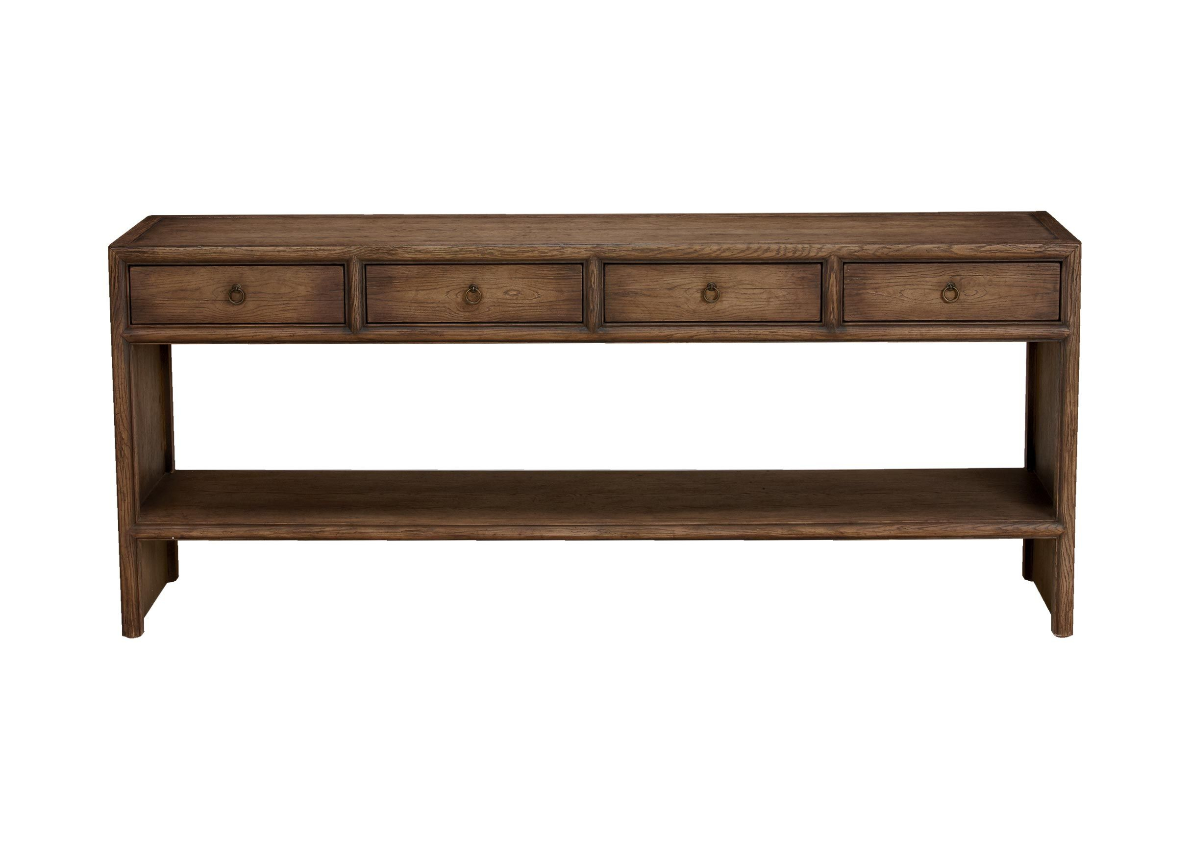Large Shogun Console Table | Console Tables | Ethan Allen | Ethan With Regard To Ethan Console Tables (View 2 of 30)