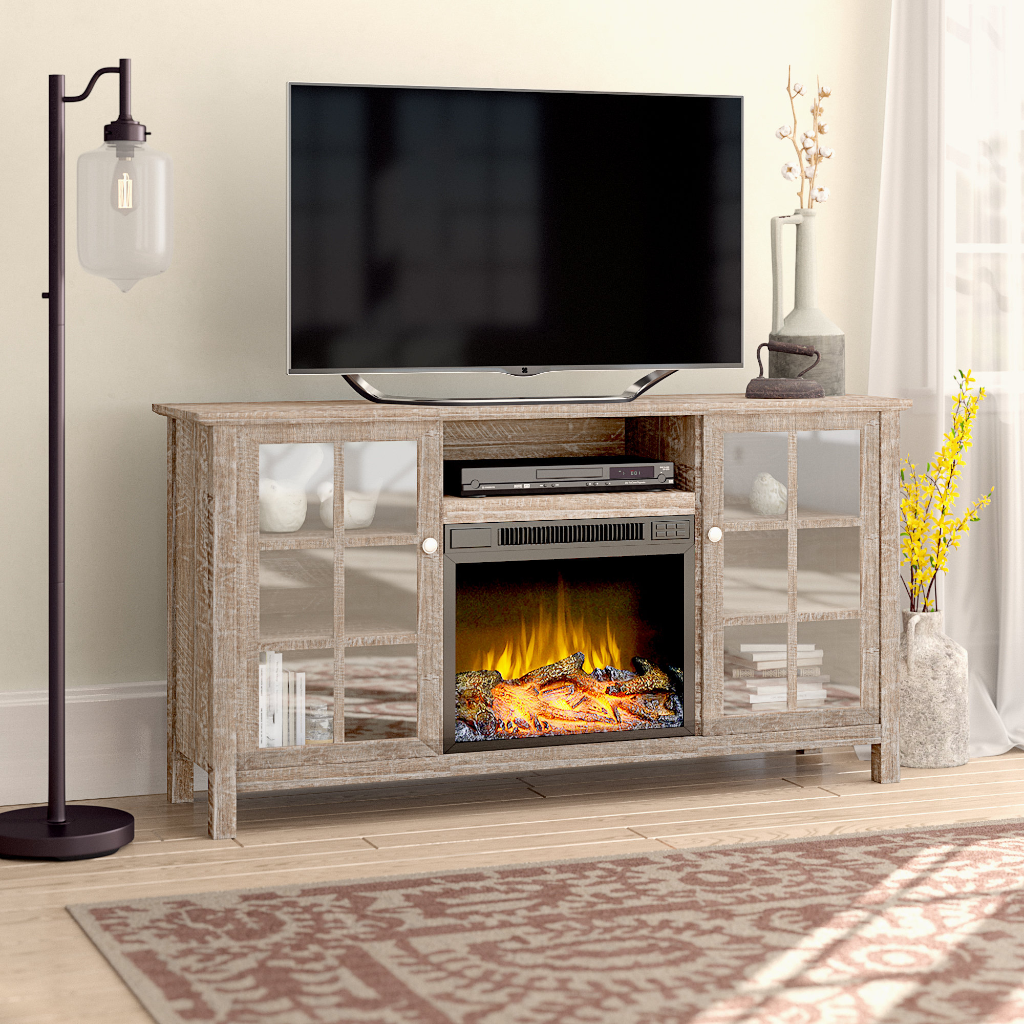 Laurel Foundry Modern Farmhouse Benoit Tv Stand For Tvs Up To 65 inside Caden 63 Inch Tv Stands (Image 14 of 30)