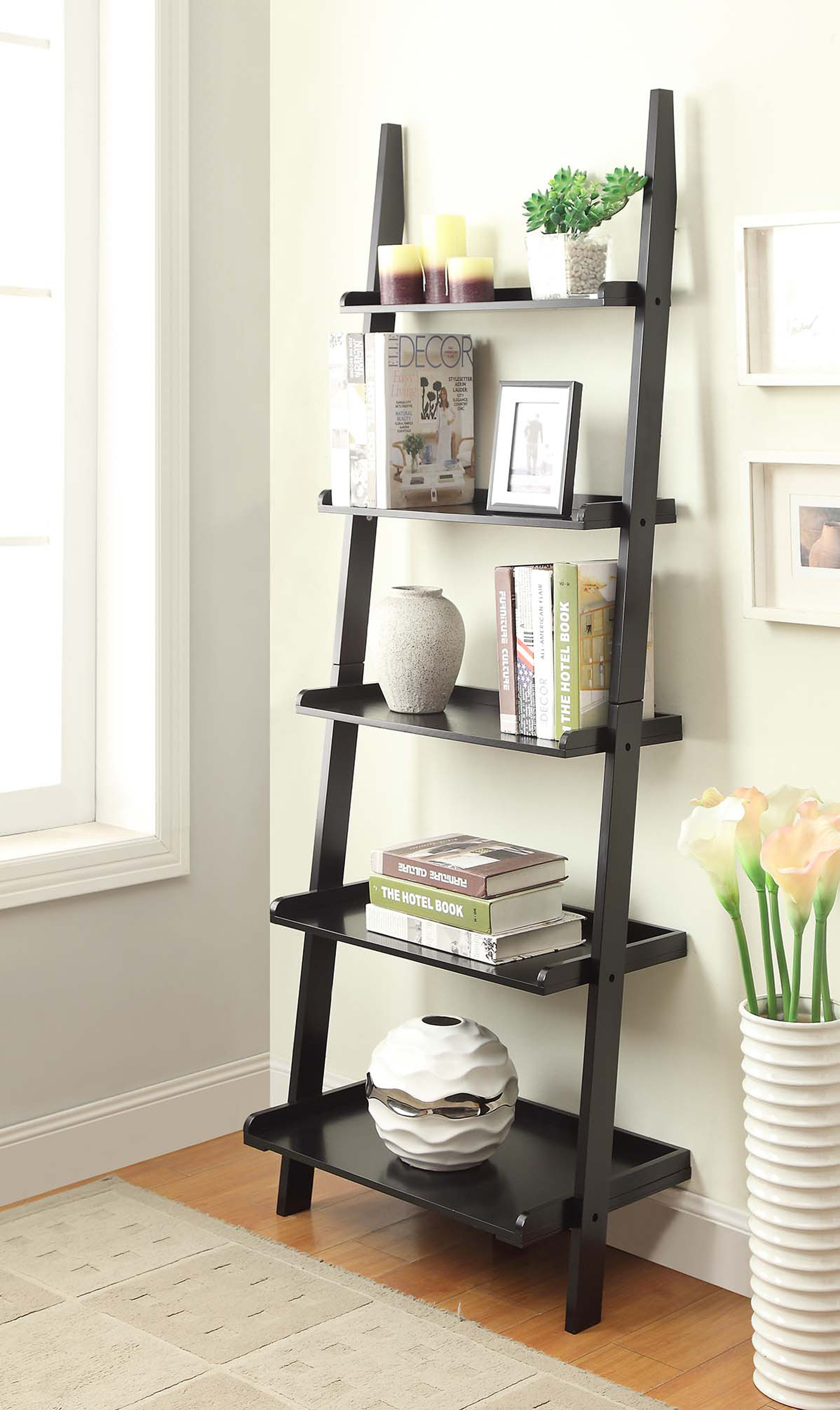 Leaning Bookcases You'll Love | Wayfair (View 24 of 30)