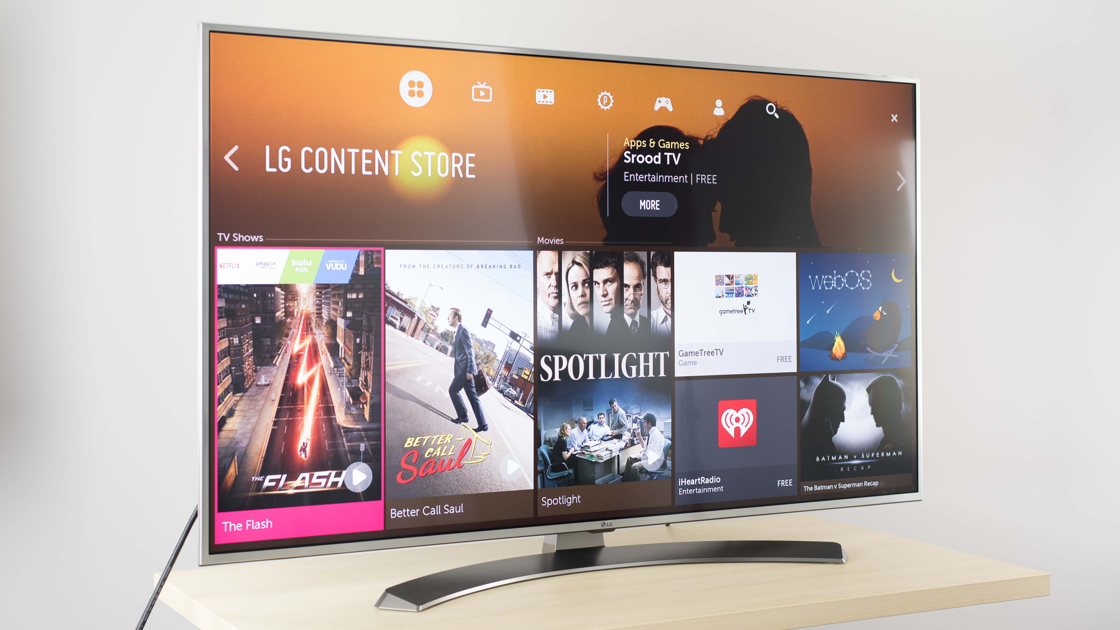 Lg Uh7700 Review (55uh7700, 60uh7700, 65uh7700) – Rtings Pertaining To Forma 65 Inch Tv Stands (View 20 of 30)