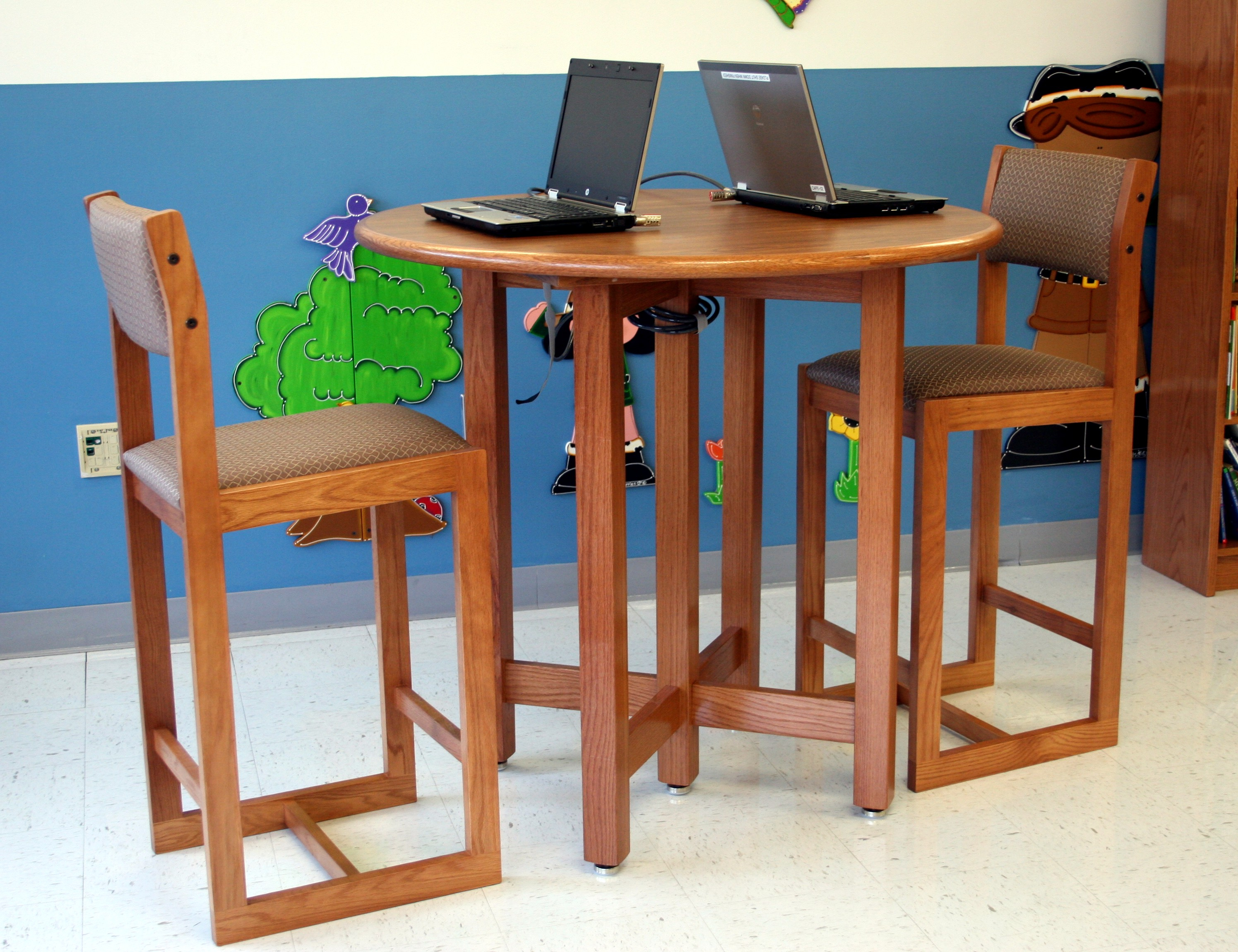 Library Furniture, Shelving & Bookcases | School Furnishings regarding Chari Media Center Tables (Image 7 of 30)