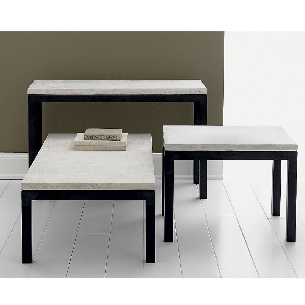 Limestone Top Crate And Barrel Coffee Table – Frnzbook In Era Limestone Console Tables (View 15 of 30)