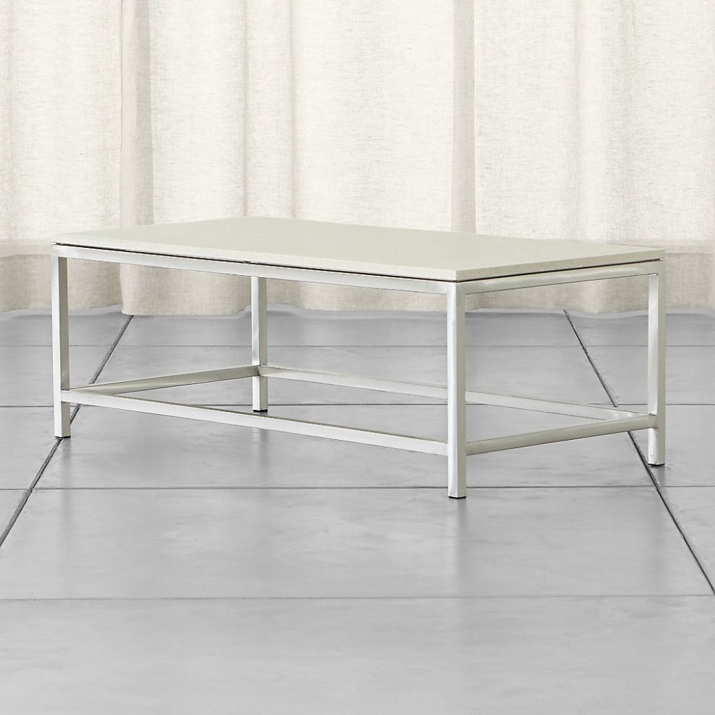 Limestone Top Crate And Barrel Coffee Table – Frnzbook With Regard To Era Limestone Console Tables (View 16 of 30)