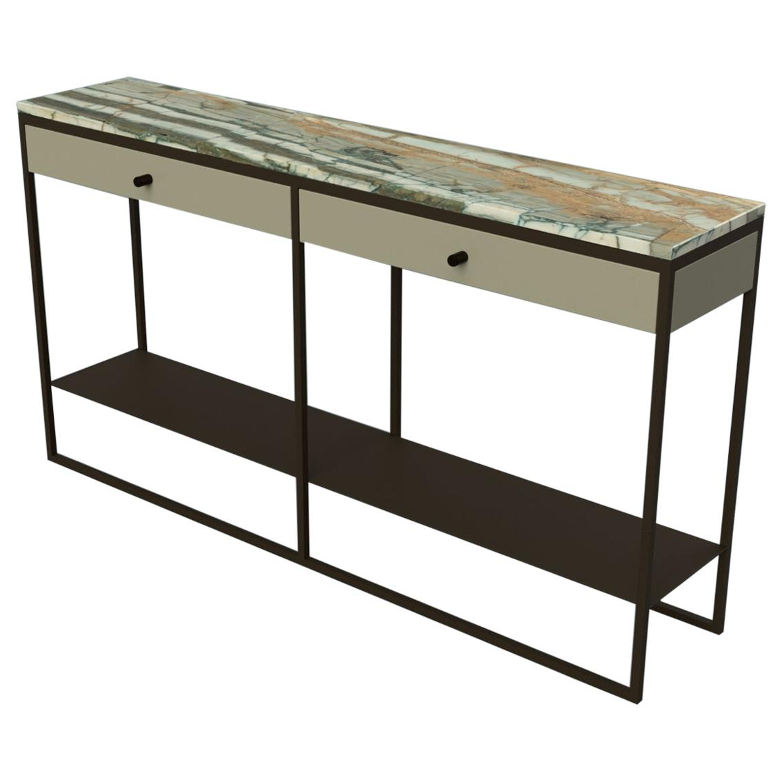 Long Console Tables - 327 For Sale On 1Stdibs in Mix Patina Metal Frame Console Tables (Image 15 of 30)