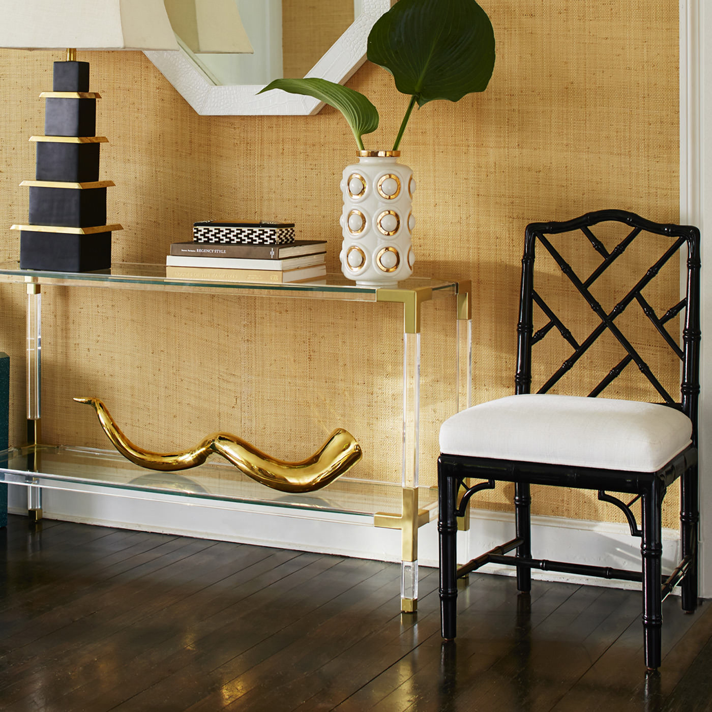 Lookalike For Less: Jonathan Adler Jacques Console - York Avenue inside Jacque Console Tables (Image 26 of 30)