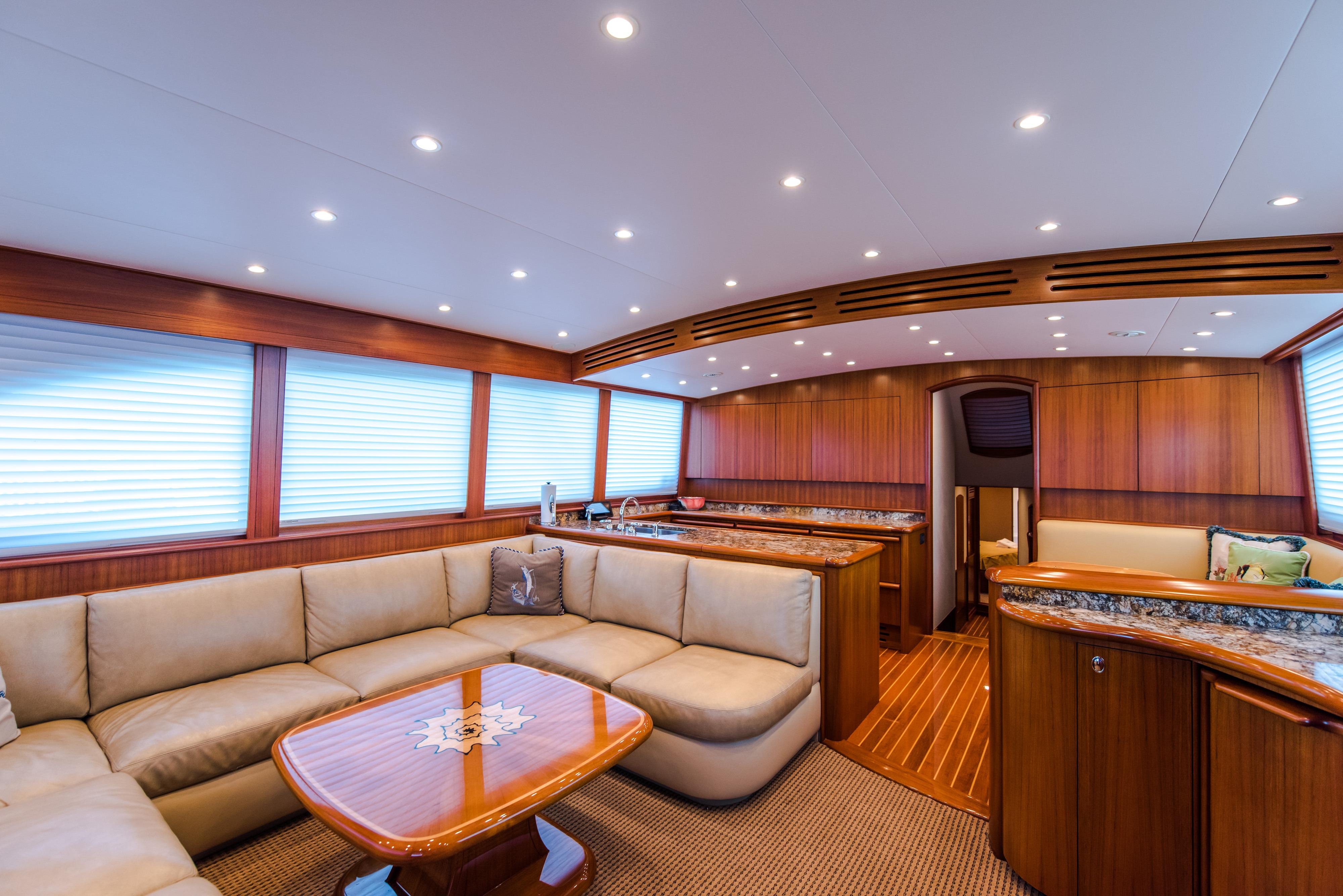 Loud Enuff Mark Willis 2008 76 Custom Sportfish 76 Yacht For Sale In Us throughout Mikelson Media Console Tables (Image 13 of 30)