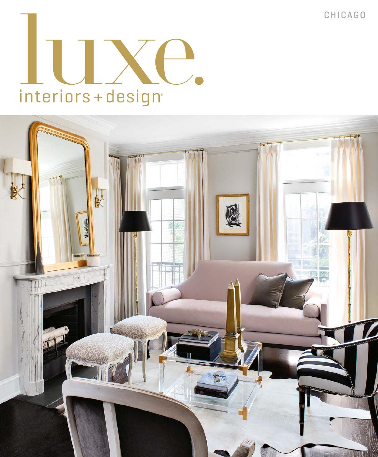 Luxe Magazine March 2016 Chicagosandow® – Issuu With Kilian Black 49 Inch Tv Stands (View 11 of 30)