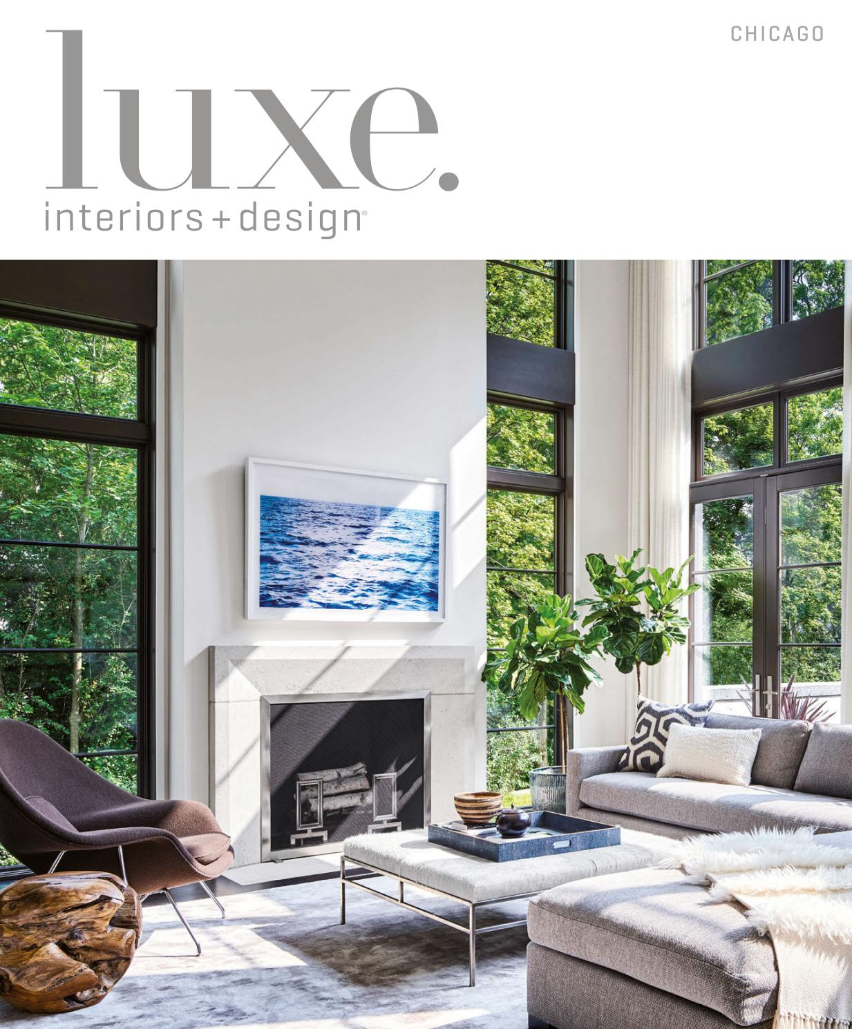 Luxe Magazine March 2017 Chicagosandow® – Issuu Within Kilian Black 74 Inch Tv Stands (View 14 of 27)