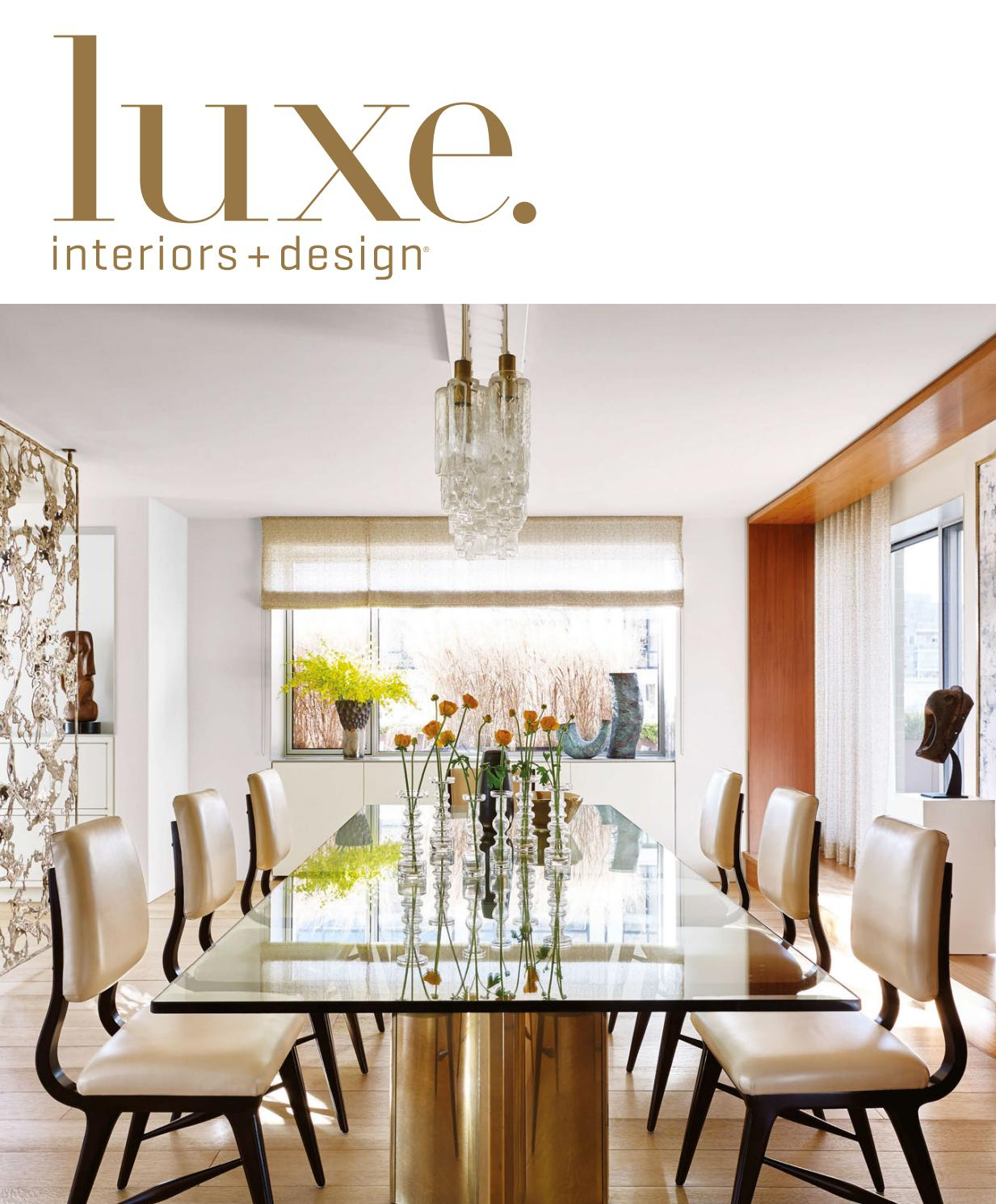 Luxe Magazine March 2017 Nationalsandow® – Issuu For Kilian Black 60 Inch Tv Stands (View 16 of 30)