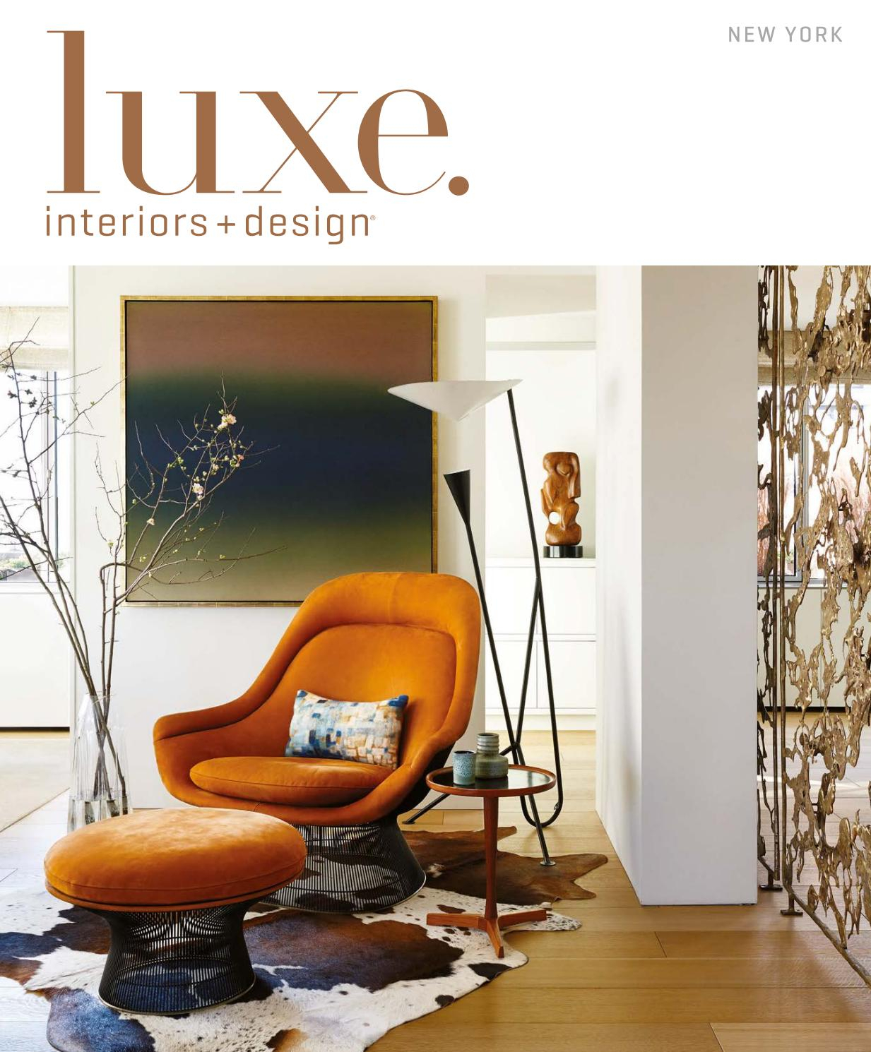 Luxe Magazine March 2017 New Yorksandow® – Issuu With Kilian Black 60 Inch Tv Stands (View 19 of 30)
