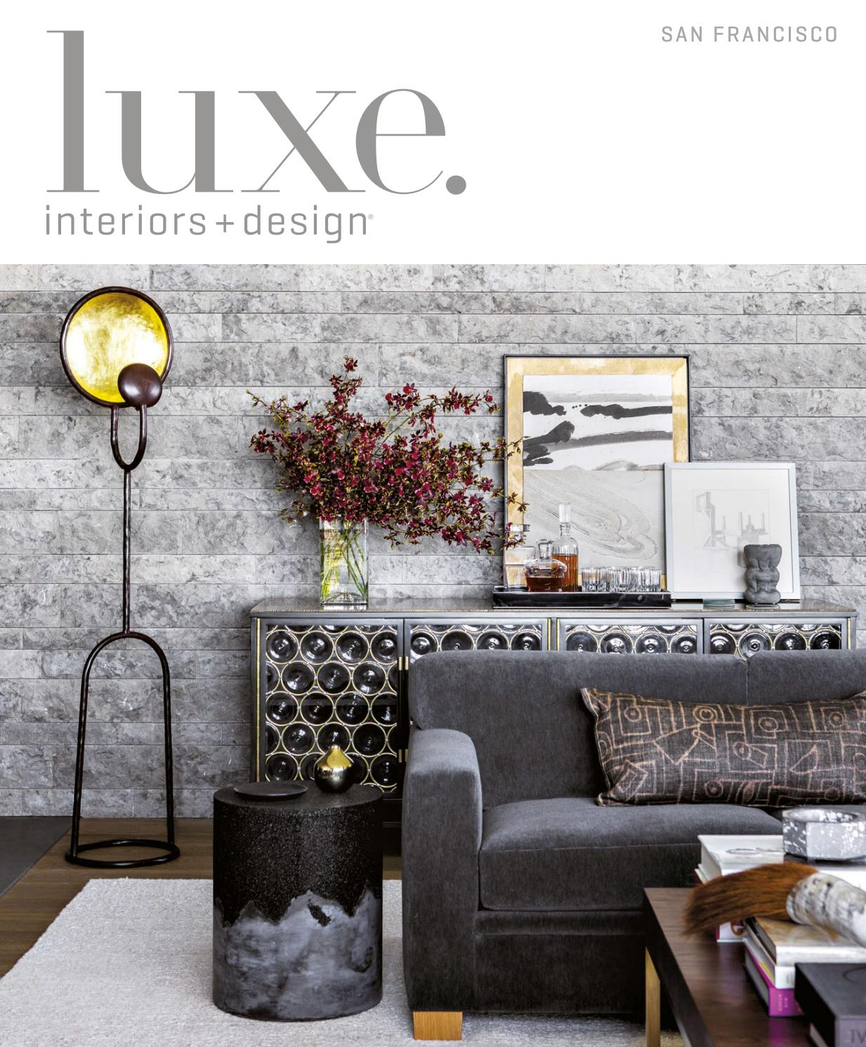 Luxe Magazine March 2017 San Franciscosandow® – Issuu In Kilian Black 60 Inch Tv Stands (View 23 of 30)