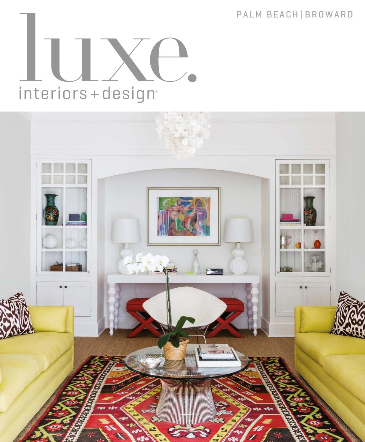 Luxe Magazine May 2017 Palm Beachsandow® – Issuu Within Kilian Black 74 Inch Tv Stands (View 12 of 27)