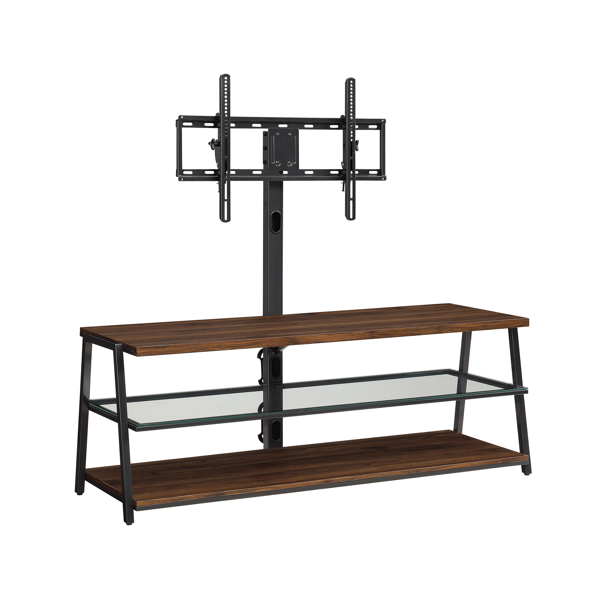 "Mainstays Arris 3-In-1 Tv Stand For Televisions Up To 70"", Perfect in Canyon 74 Inch Tv Stands (Image 9 of 30)"