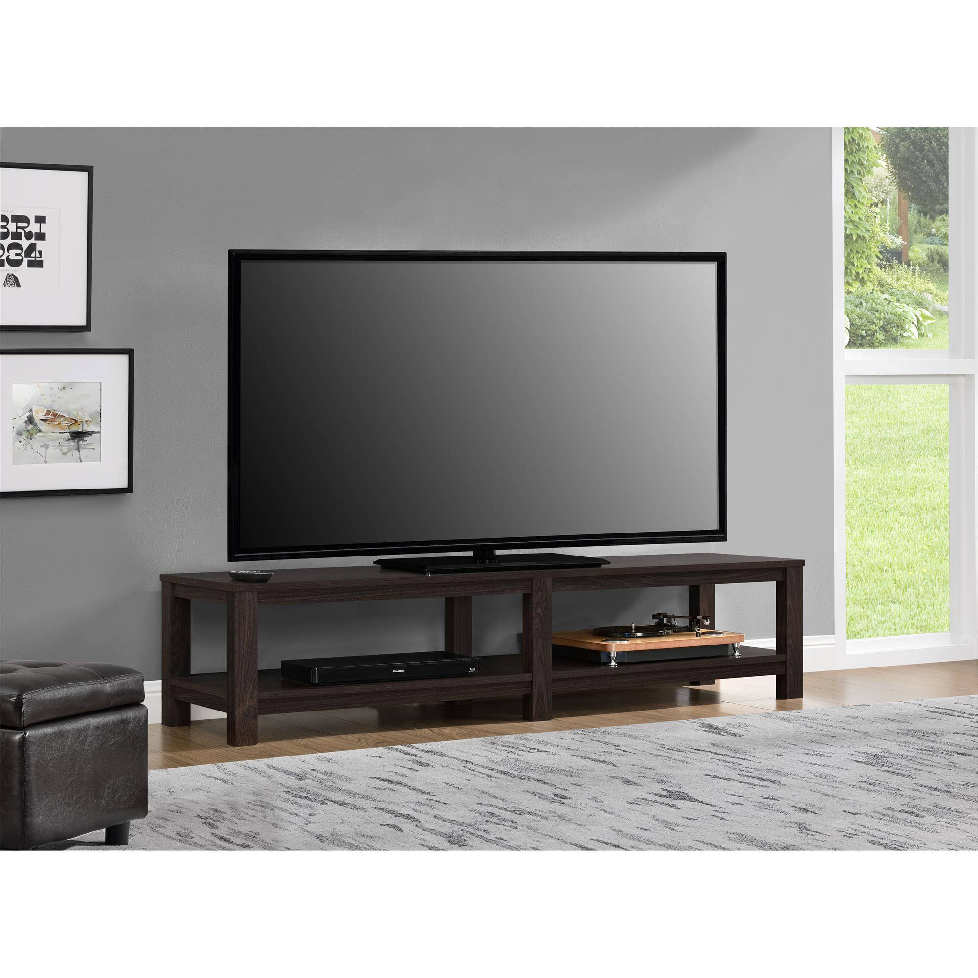 """Mainstays Parsons Tv Stand For Tvs Up To 65"""", Multiple Colors Regarding Century Blue 60 Inch Tv Stands (View 5 of 30)"""