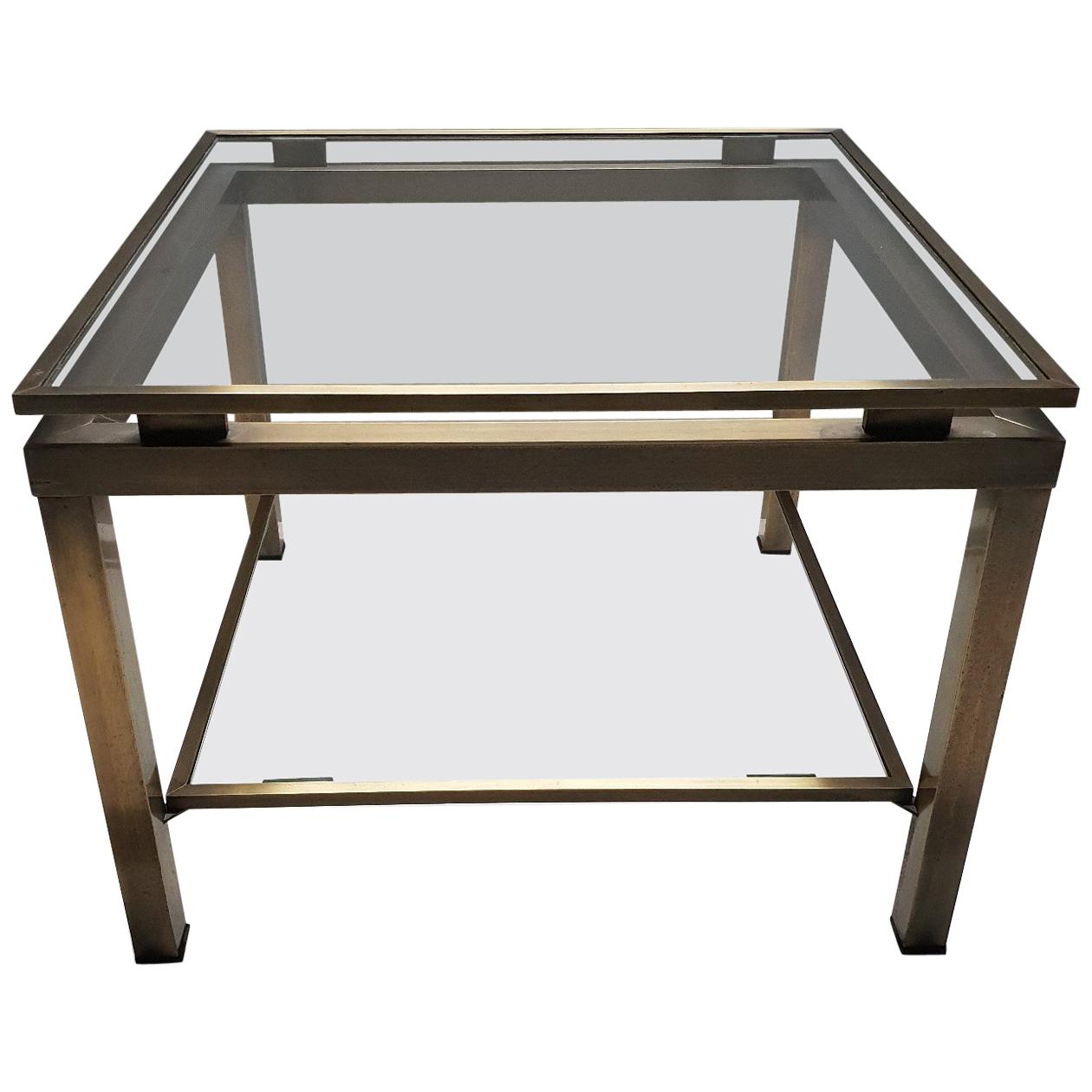 Maison Jansen Furniture - 654 For Sale At 1Stdibs regarding Mix Leather Imprint Metal Frame Console Tables (Image 13 of 30)