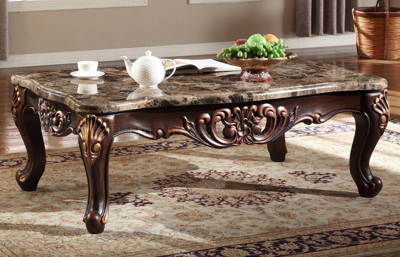 Marble Top Sofa Table - Sofa Ideas in Parsons Walnut Top & Brass Base 48X16 Console Tables (Image 17 of 30)