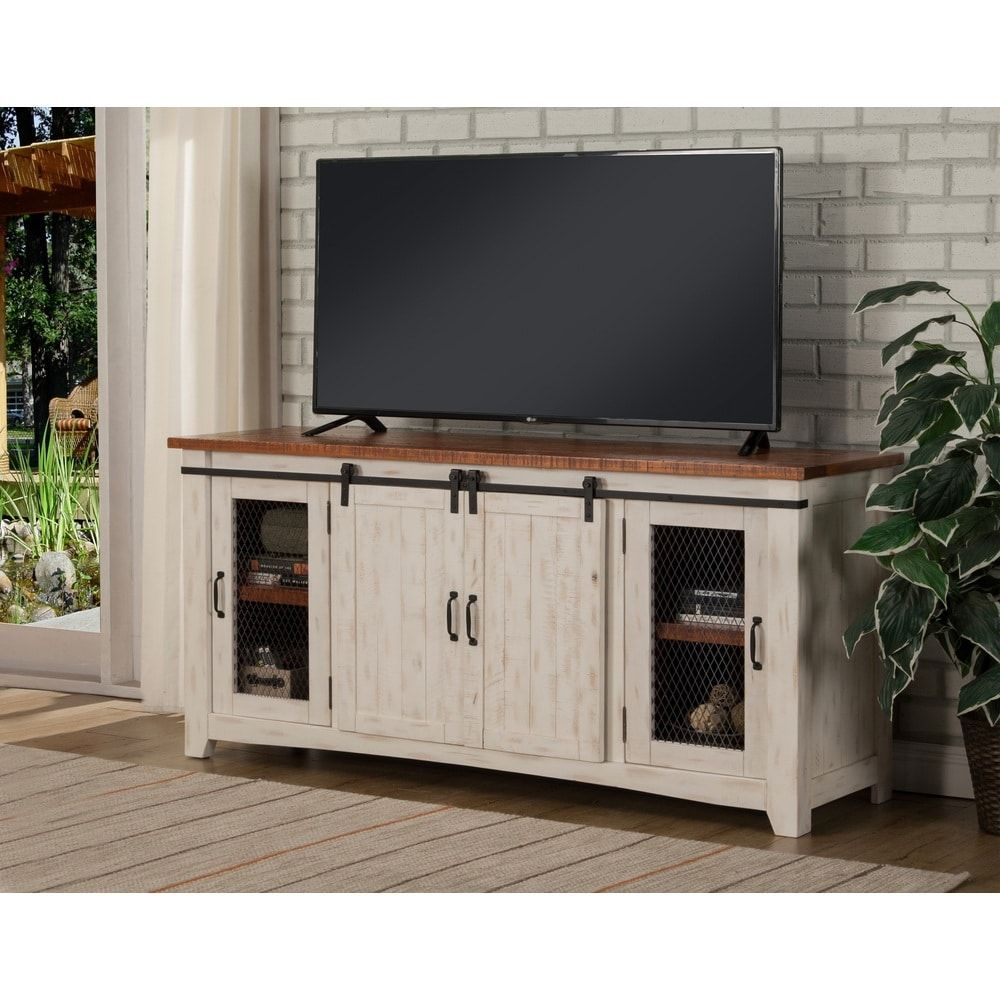 "Martin Svensson Home Taos 65"" Tv Stand – 65 Inches In Width Pertaining To Dixon White 65 Inch Tv Stands (View 3 of 30)"