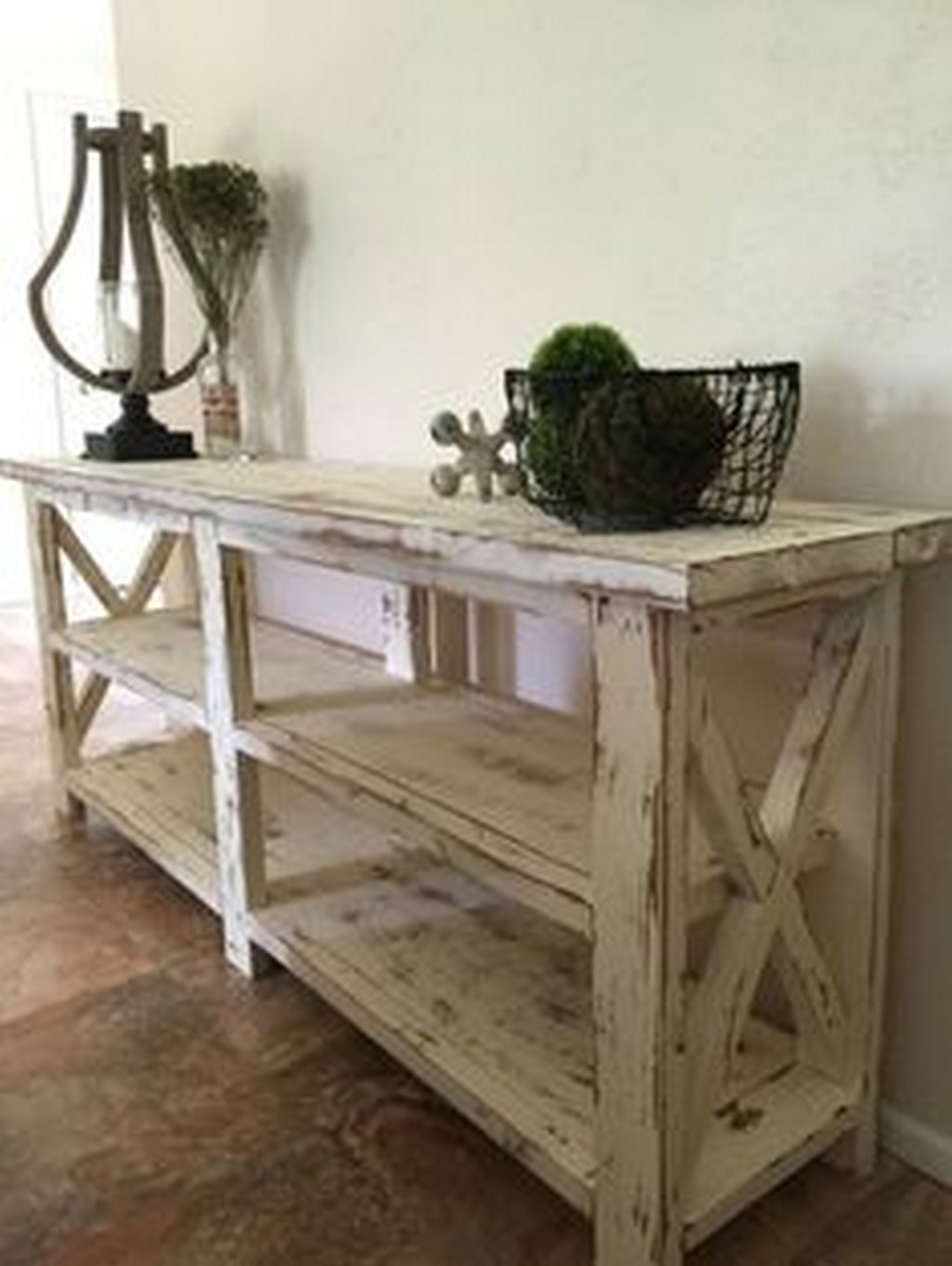 Maximizing Your Room With These Farmhouse Console Table Designs Inside Layered Wood Small Square Console Tables (View 8 of 30)