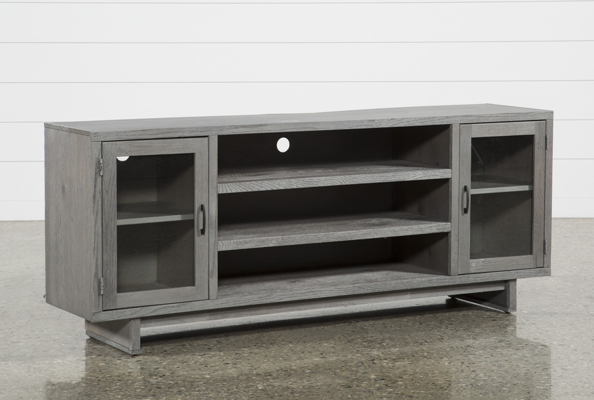 Melrose Titanium 74 Inch Tv Stand, Grey | House | Pinterest for Sinclair Grey 54 Inch Tv Stands (Image 16 of 30)