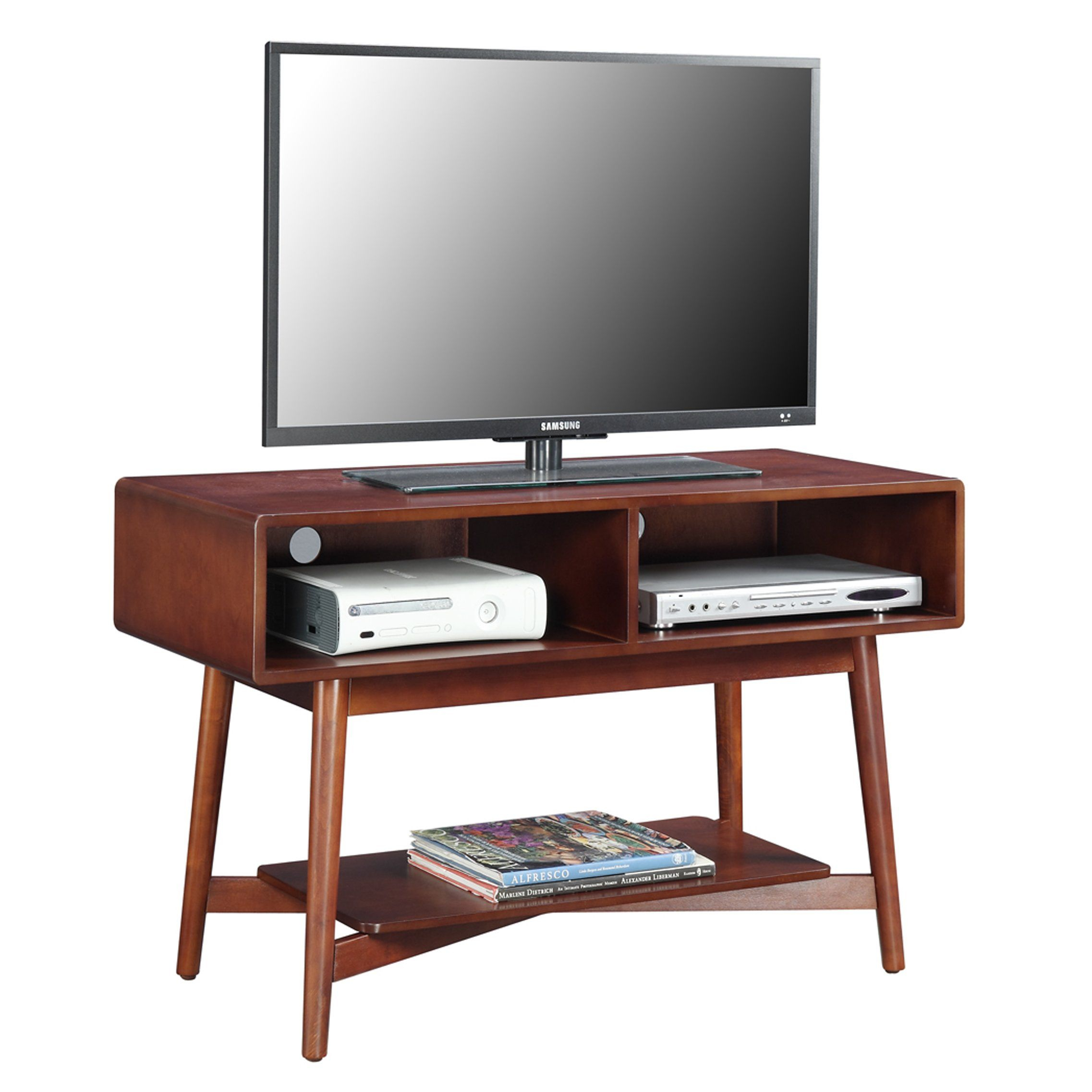 Mercury Row® Borgman Mid Century Tv Stand | Living Room | Pinterest With Regard To Draper 62 Inch Tv Stands (View 13 of 30)
