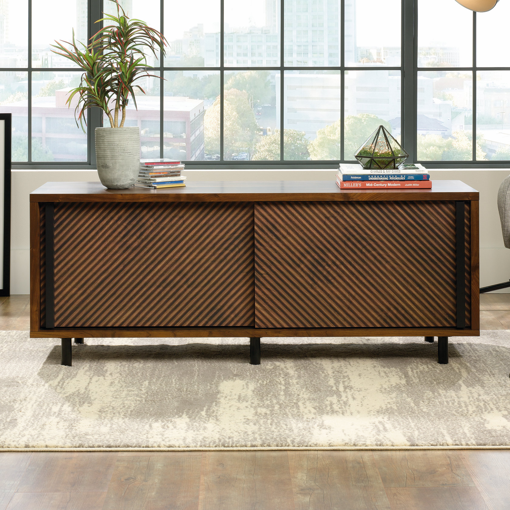 """Mercury Row Posner Tv Stand For Tvs Up To 60"""" & Reviews 