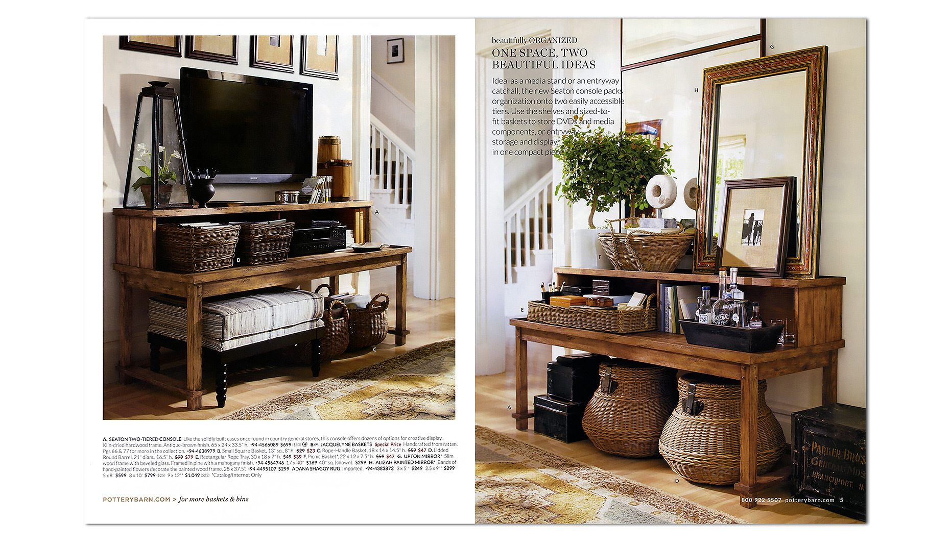 Michael Walters Style | American Ease | 9 for Walters Media Console Tables (Image 11 of 30)