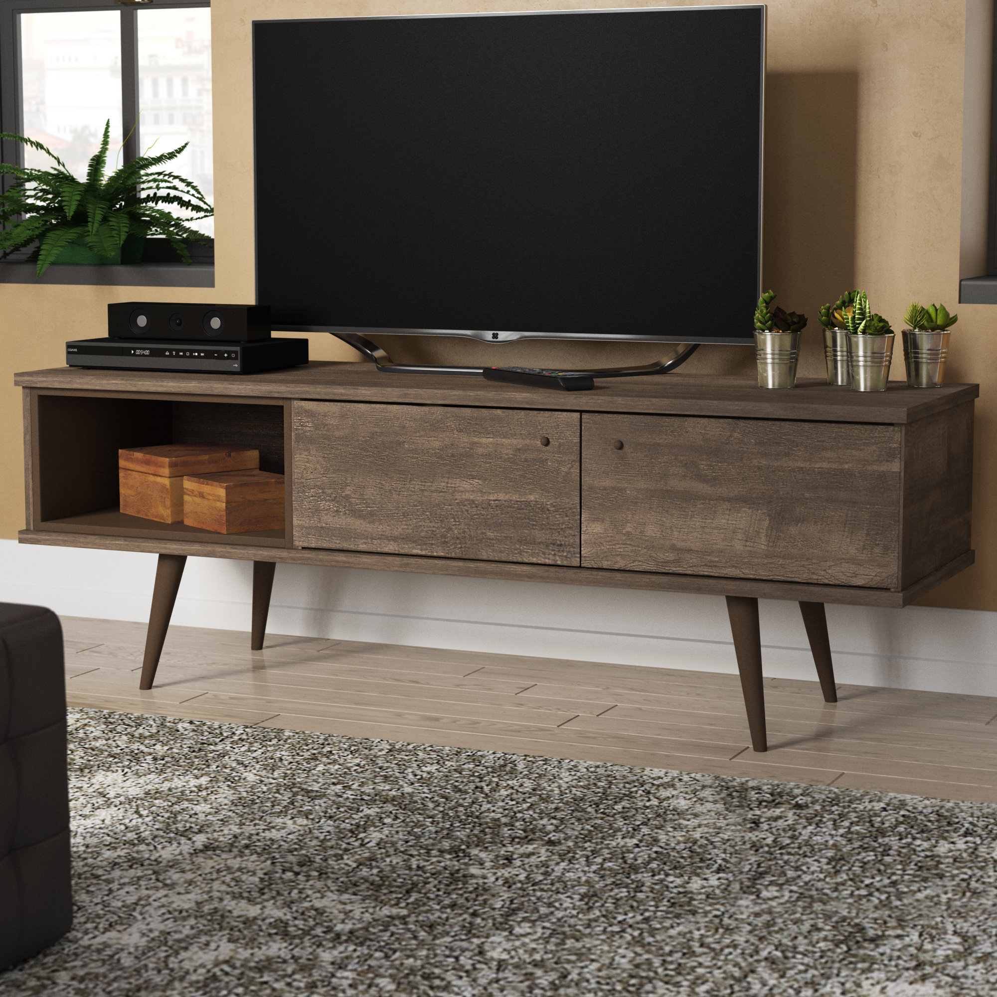 Mid Century Modern Tv Stands You'll Love   Wayfair In Laurent 50 Inch Tv Stands (View 18 of 30)