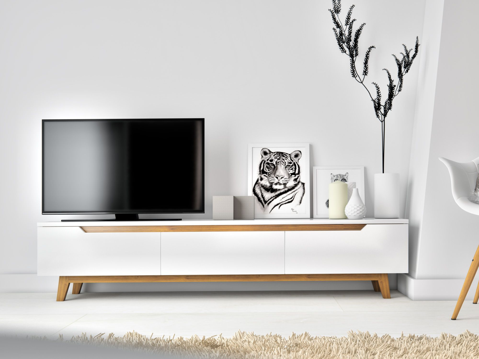 Mikkel Tv Stand | Rove Concepts Rove Concepts Mid Century Furniture For Century Sky 60 Inch Tv Stands (View 17 of 30)