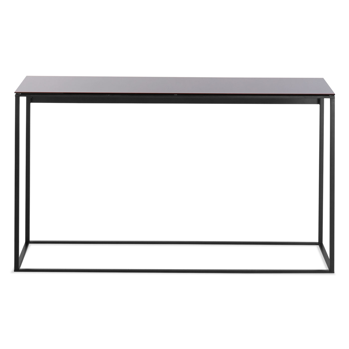 Mini Sta Console Table Modern Side Coffee Tables Blu Dot Black Pertaining To Ethan Console Tables (View 23 of 30)