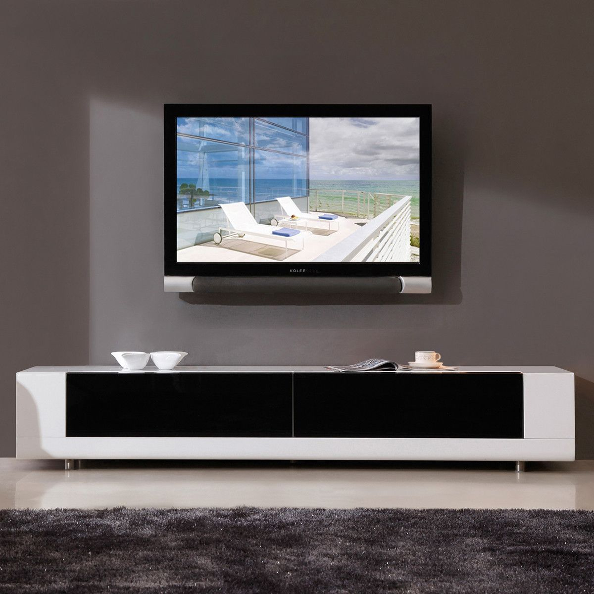 Minimalist, Modern Media Cabinet (View 17 of 30)