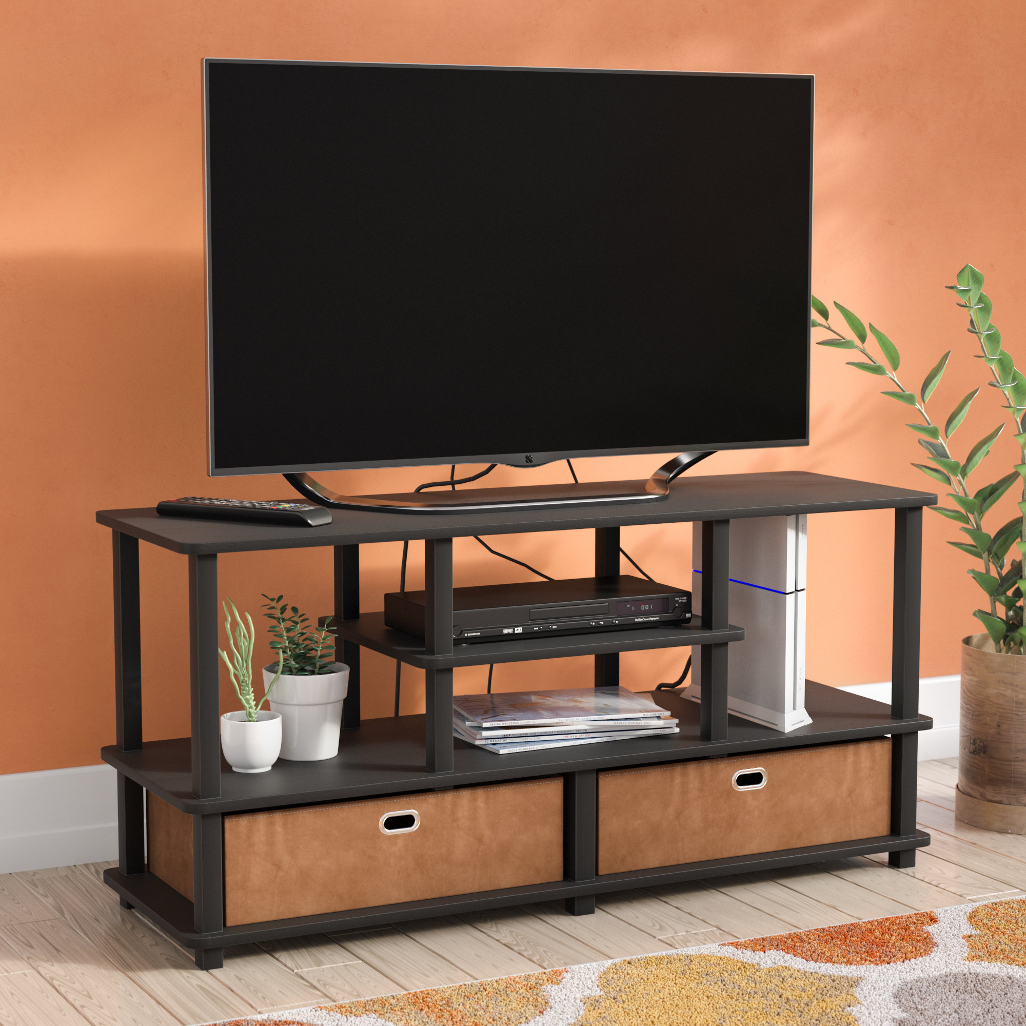 Mirrored Tv Stand | Wayfair.co.uk intended for Valencia 70 Inch Tv Stands (Image 9 of 30)