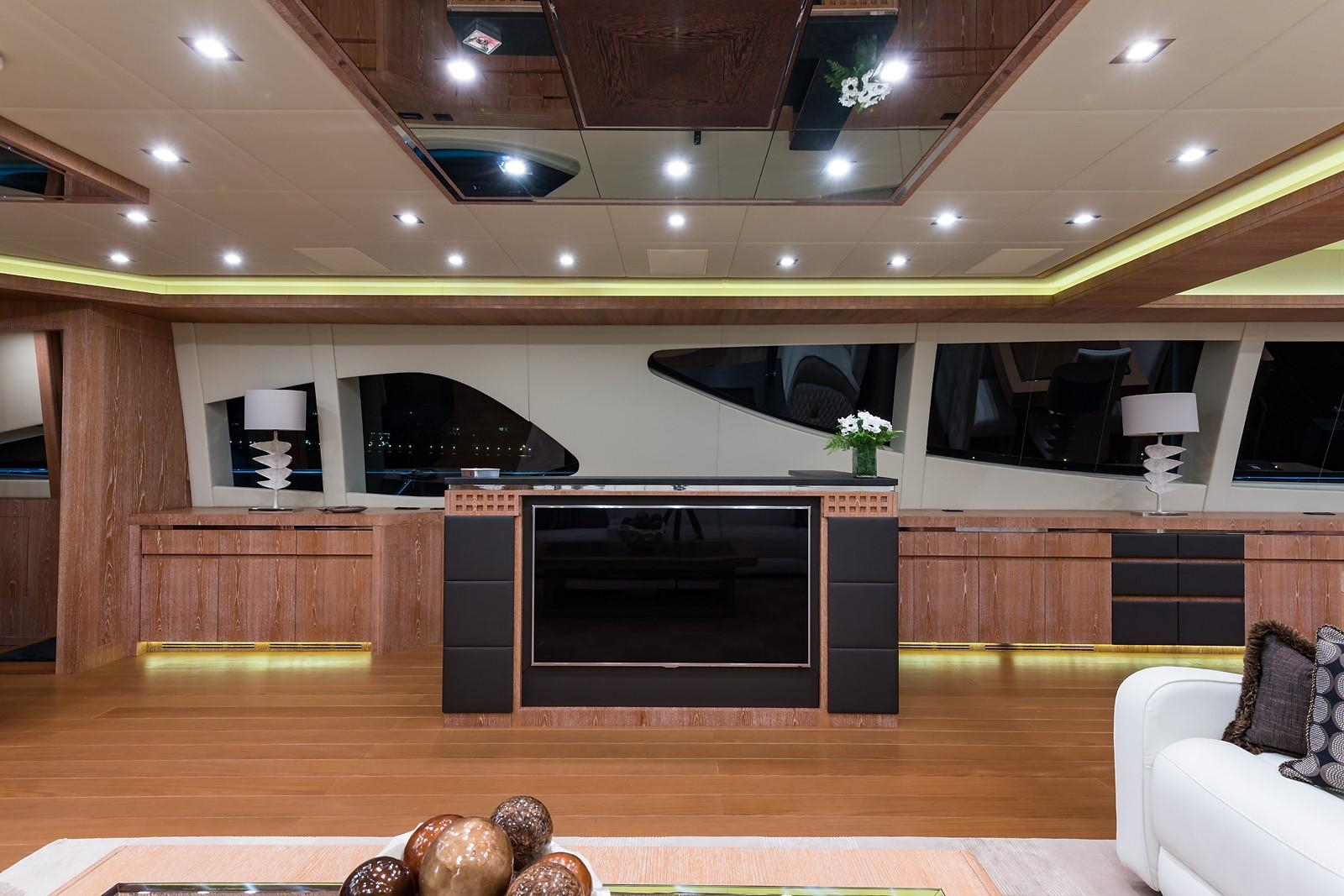 Miss Moneypenny V Mangusta 2012 165 Motor Yacht 165 Yacht For Sale In Us For Mikelson Media Console Tables (View 20 of 30)