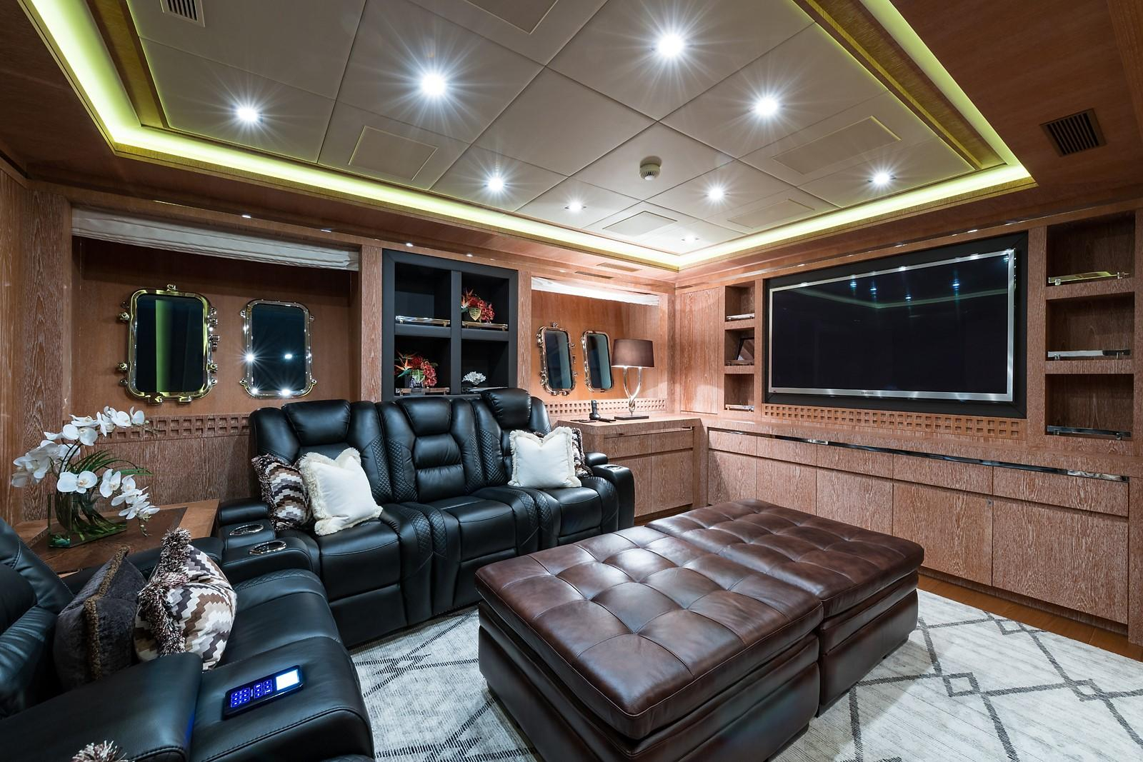 Miss Moneypenny V Mangusta 2012 165 Motor Yacht 165 Yacht For Sale In Us pertaining to Mikelson Media Console Tables (Image 15 of 30)