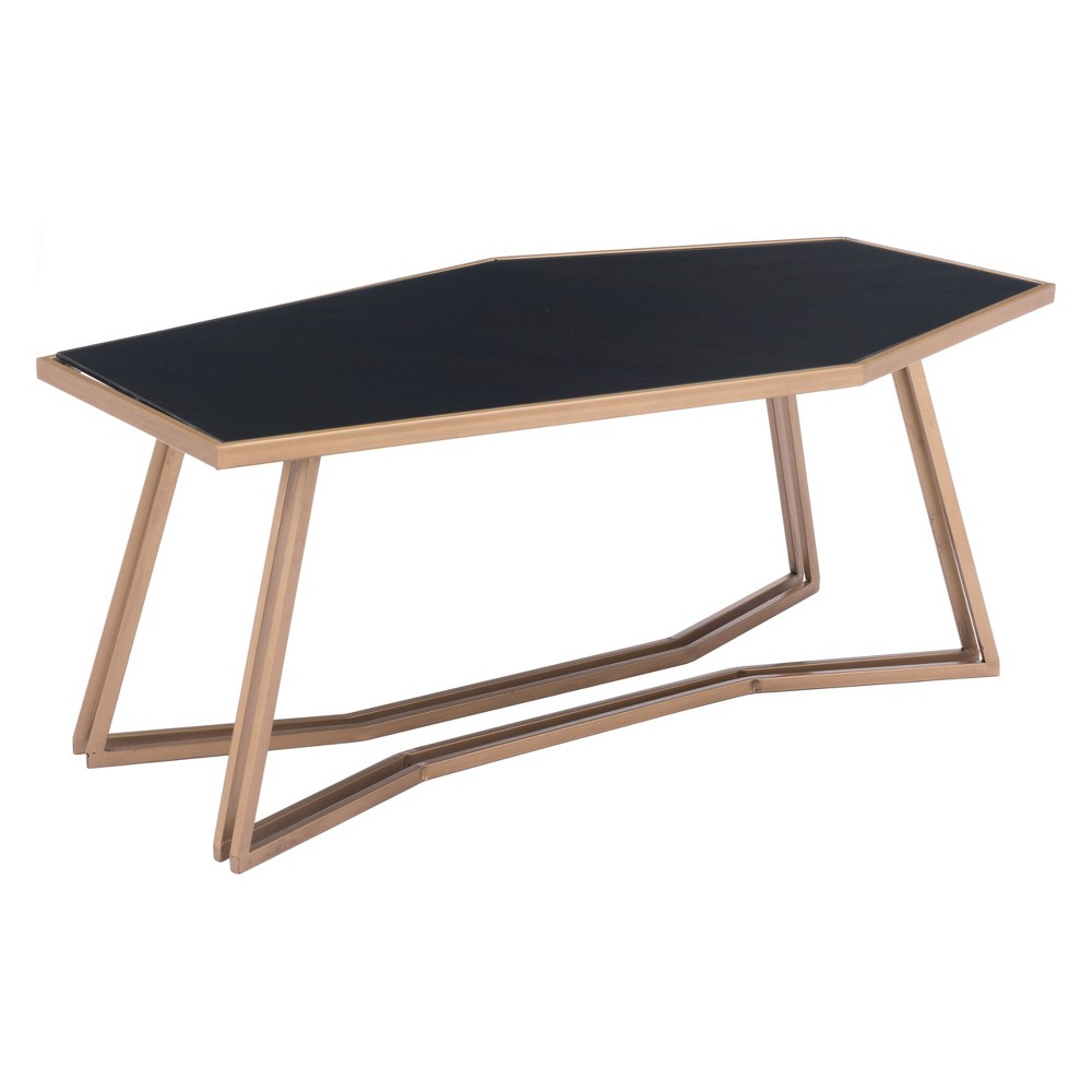 Modern Coffee Table Black/gold - Zm Home | Products | Pinterest within Scattered Geo Console Tables (Image 19 of 30)