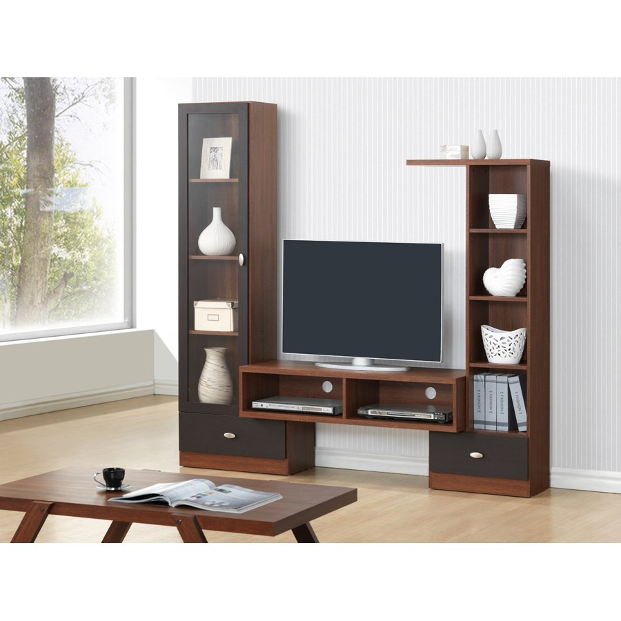 Modern Dark Brown Tv Stand – Empire | Rc Willey Furniture Store Regarding Draper 62 Inch Tv Stands (View 21 of 30)