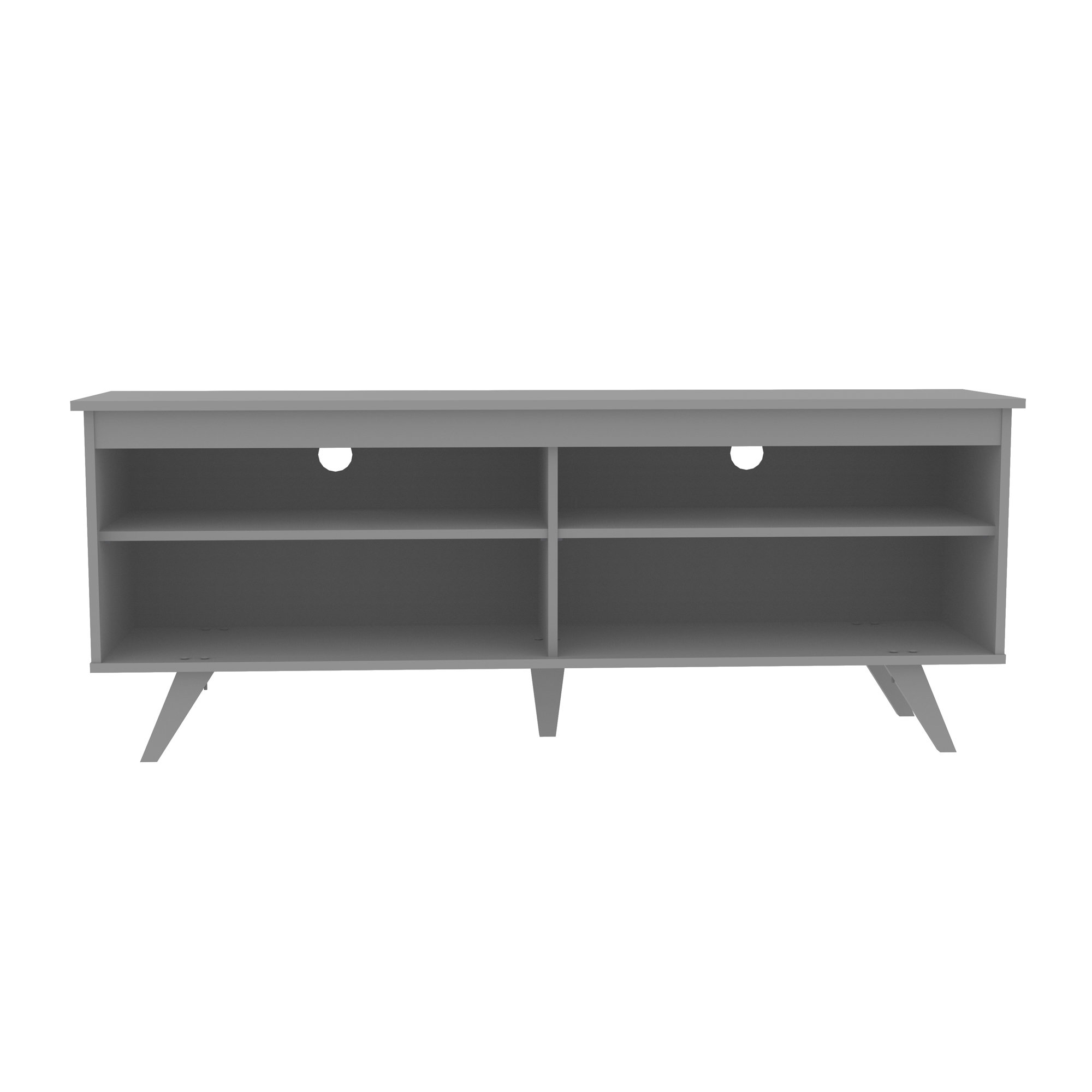 Modern Grey Tv Stands   Allmodern Within Sinclair Blue 54 Inch Tv Stands (View 17 of 30)