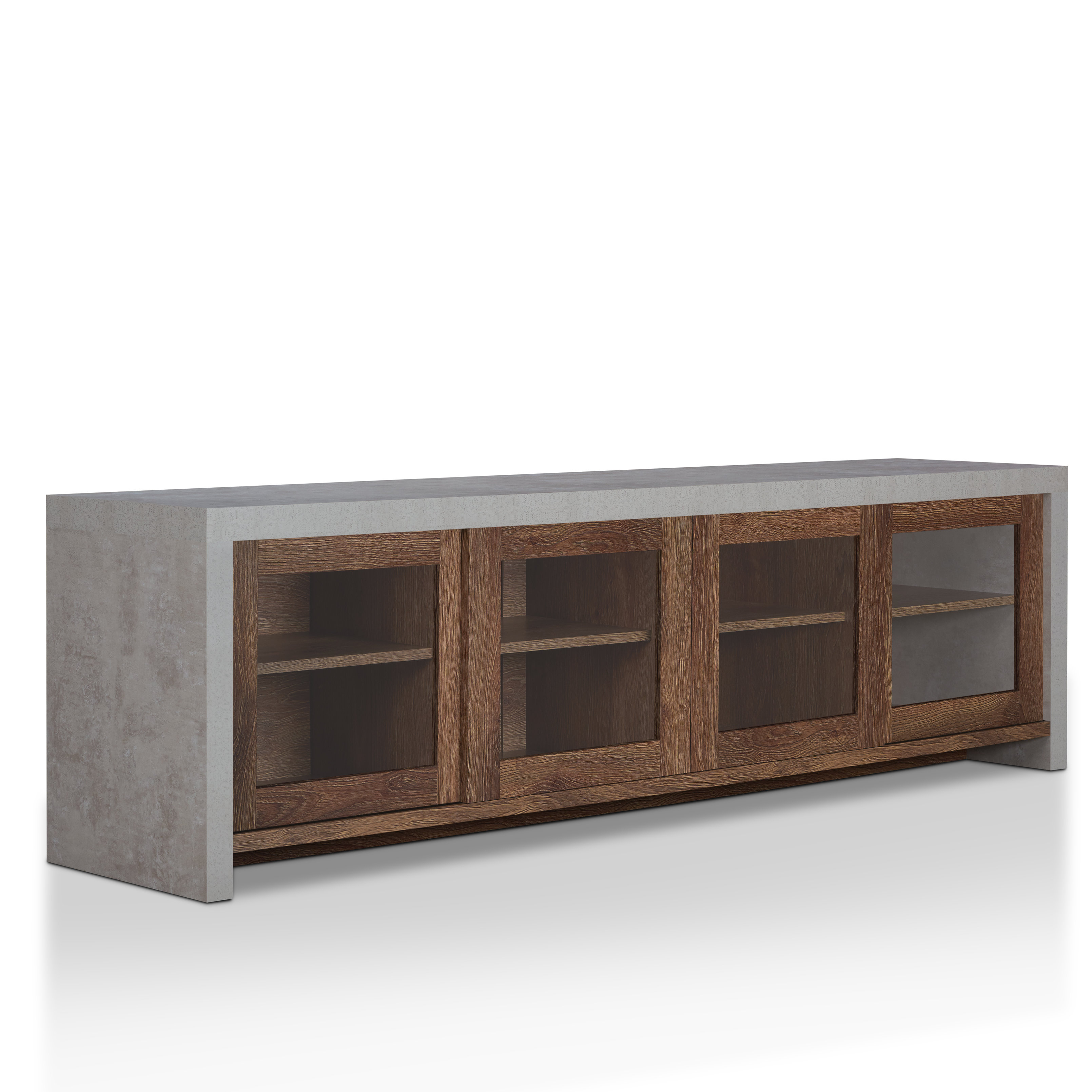Modern Tv Stands & Entertainment Centers | Allmodern for Century White 60 Inch Tv Stands (Image 17 of 30)